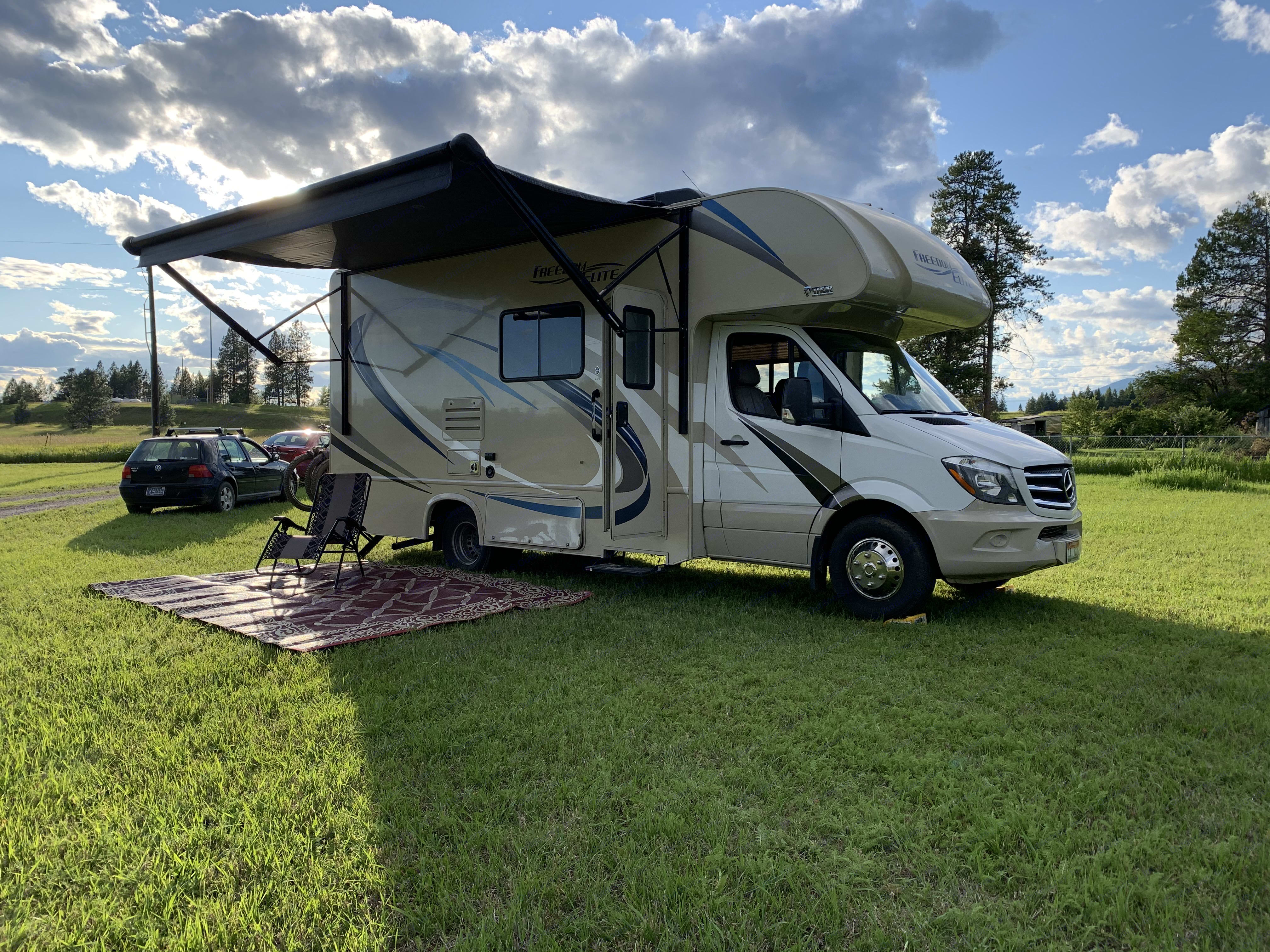 Life can be good....even during a pandemic!. Thor Motor Coach Freedom Elite 2018