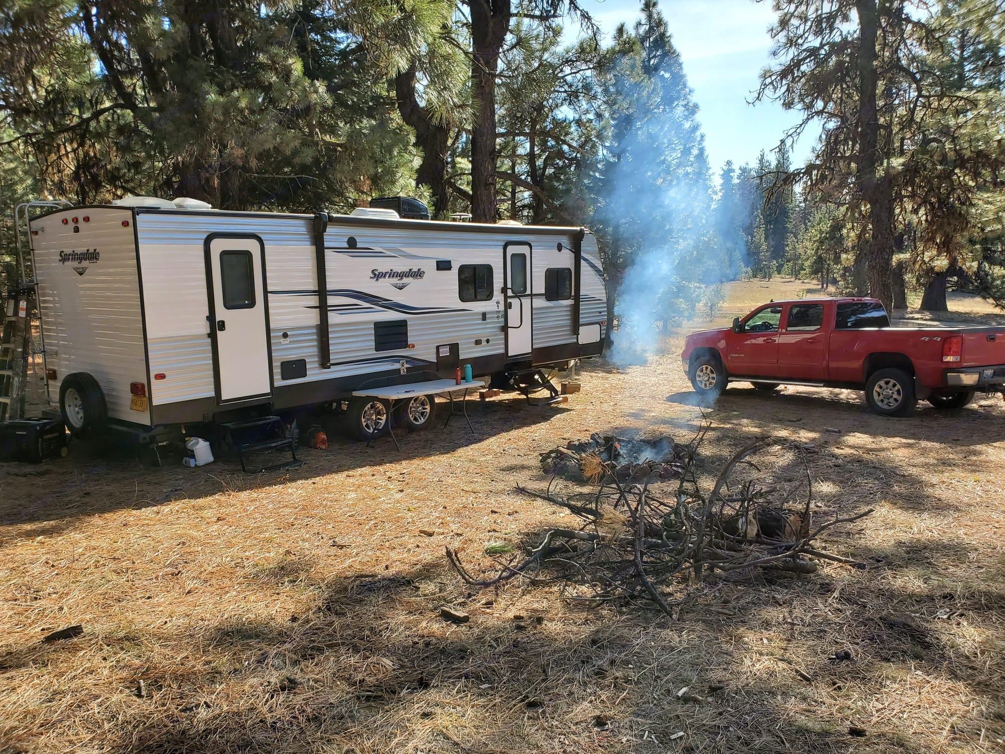 Dry Camping. Keystone Springdale 2019