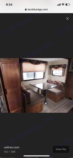 Outdoors Rv Manufacturing Black Rock 2014