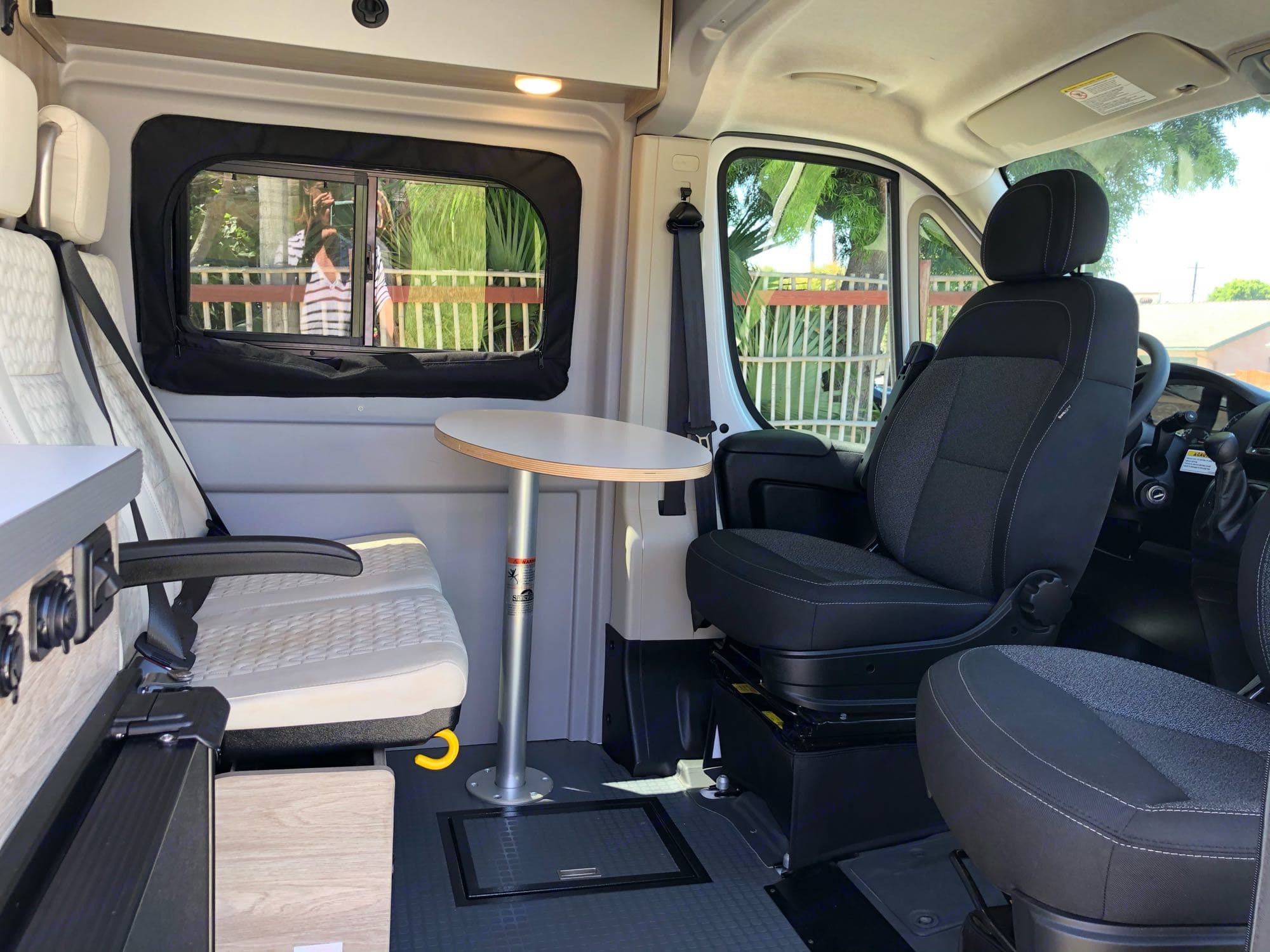 Dinner/Game Table (swiveling seats and removable table provide entertainment opportunity). Winnebago Other 2021