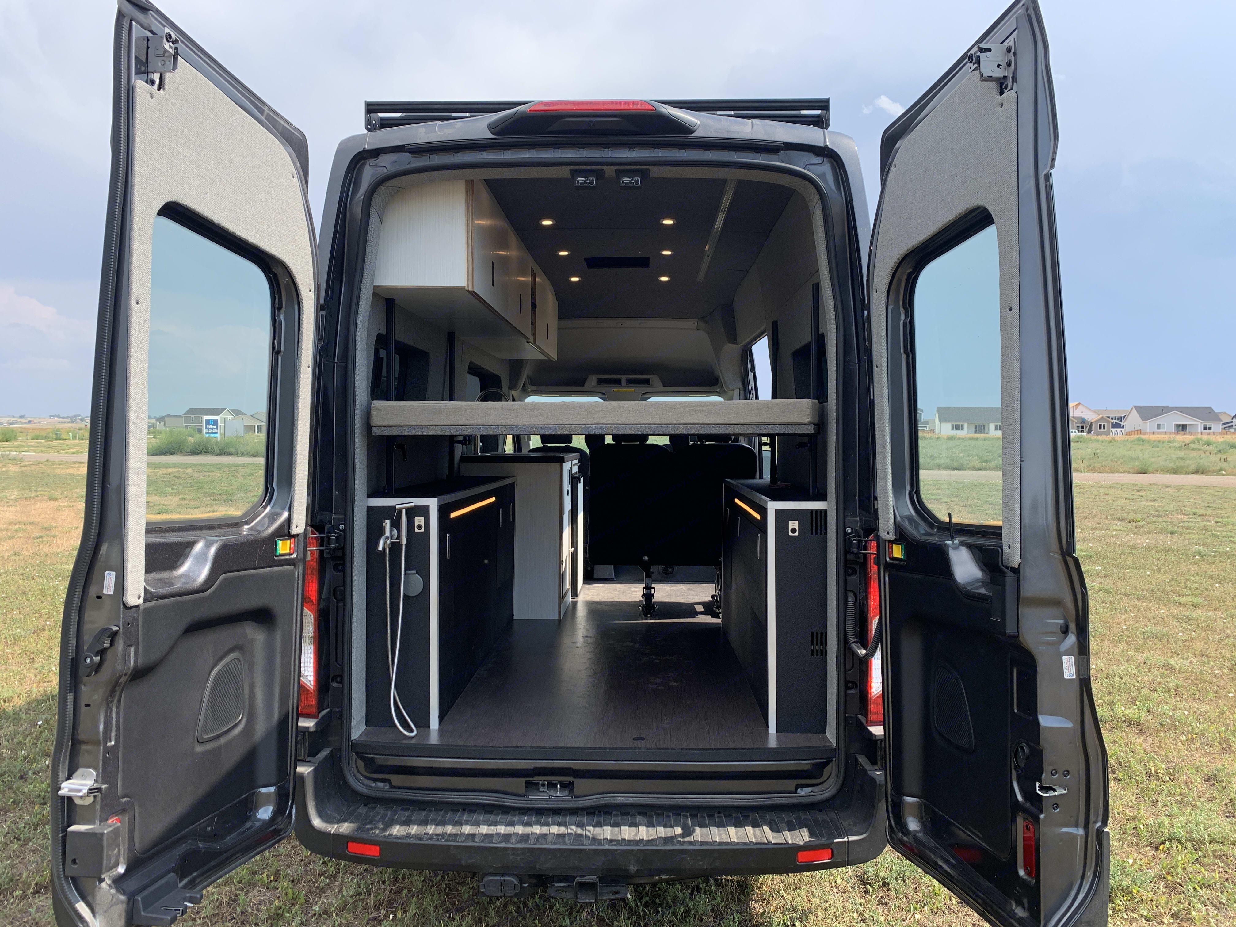 Cargo area.  Load up the toys!. Ford Transit 2020