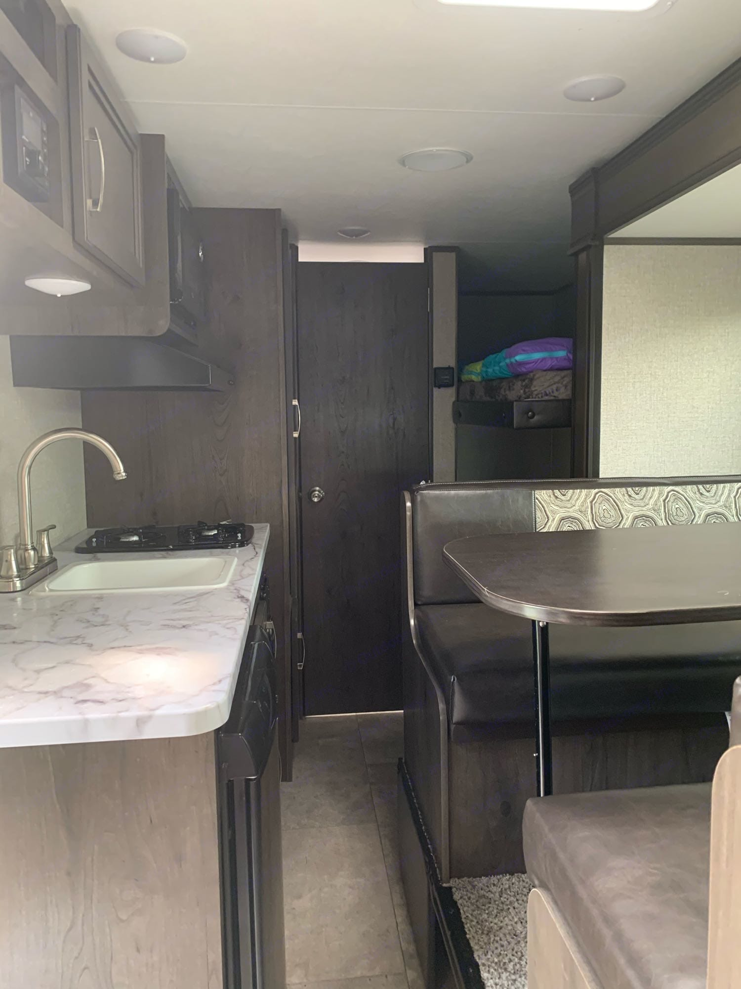 interior with Slide in. Slides out 4ish feet. Jayco Jay Flight 2020