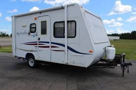 compact. Jayco Jay Feather EXP 17 Ex-PORT 2008