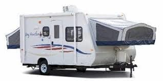 outside. Jayco Jay Feather EXP 17 Ex-PORT 2008