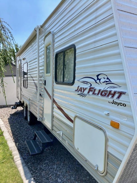 2 Doors For Extra Convenience. Jayco Jay Flight 2008