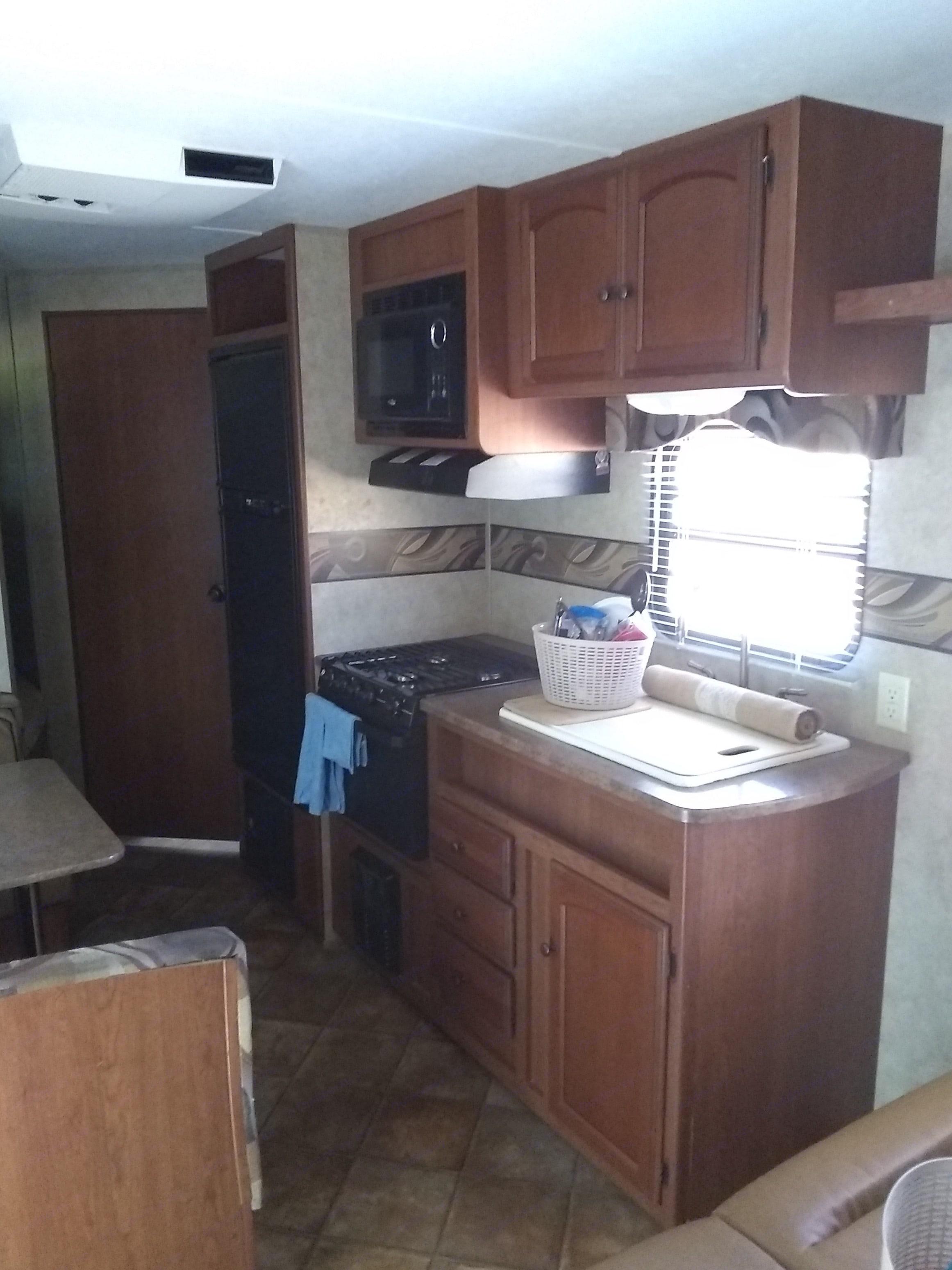 Nice kitchen. Dutchmen Sport 2012