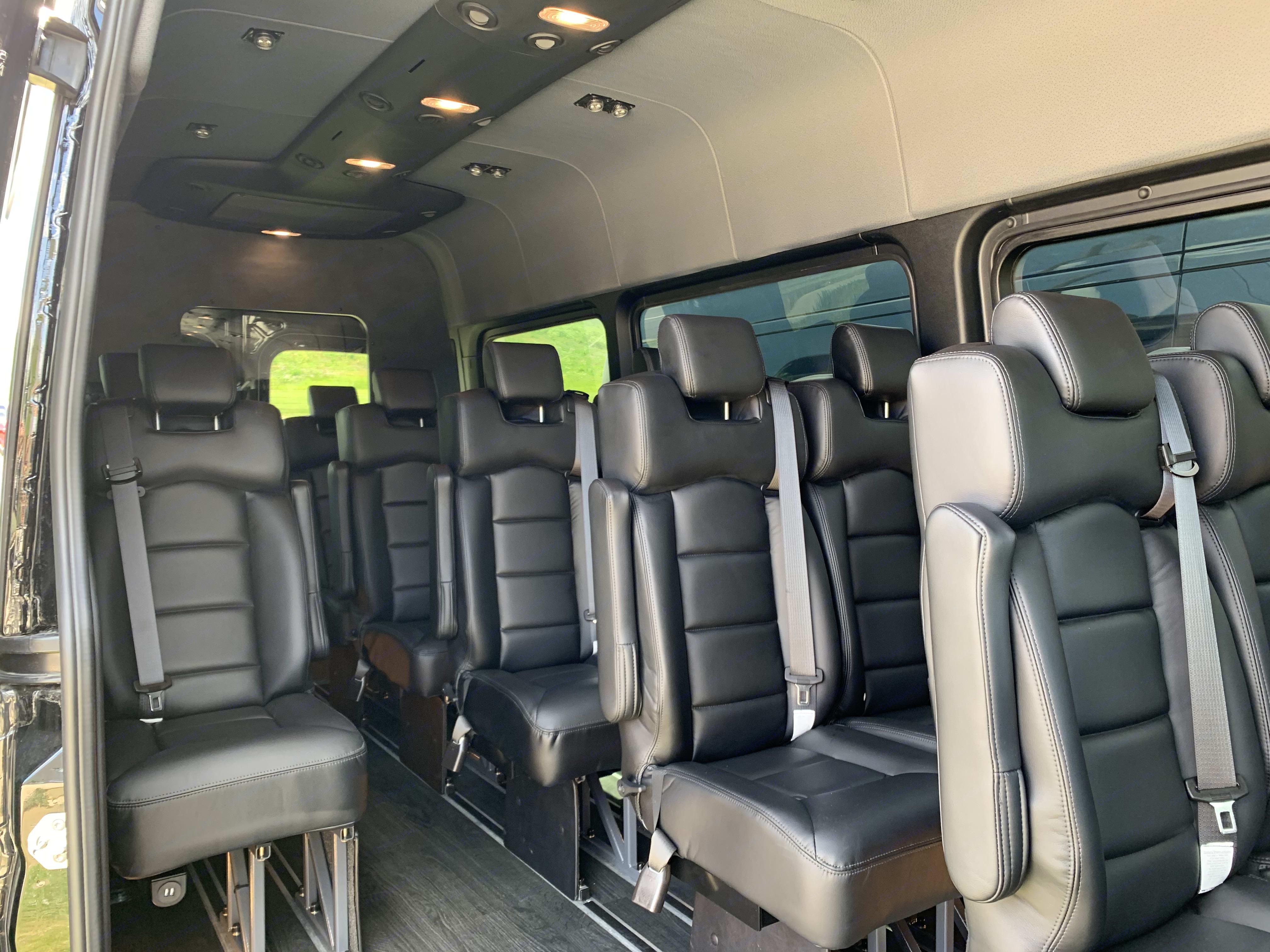 Reclining Seats. Mercedes-Benz Sprinter 2019
