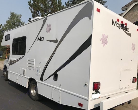 Thor Motor Coach Four Winds Majestic 2014