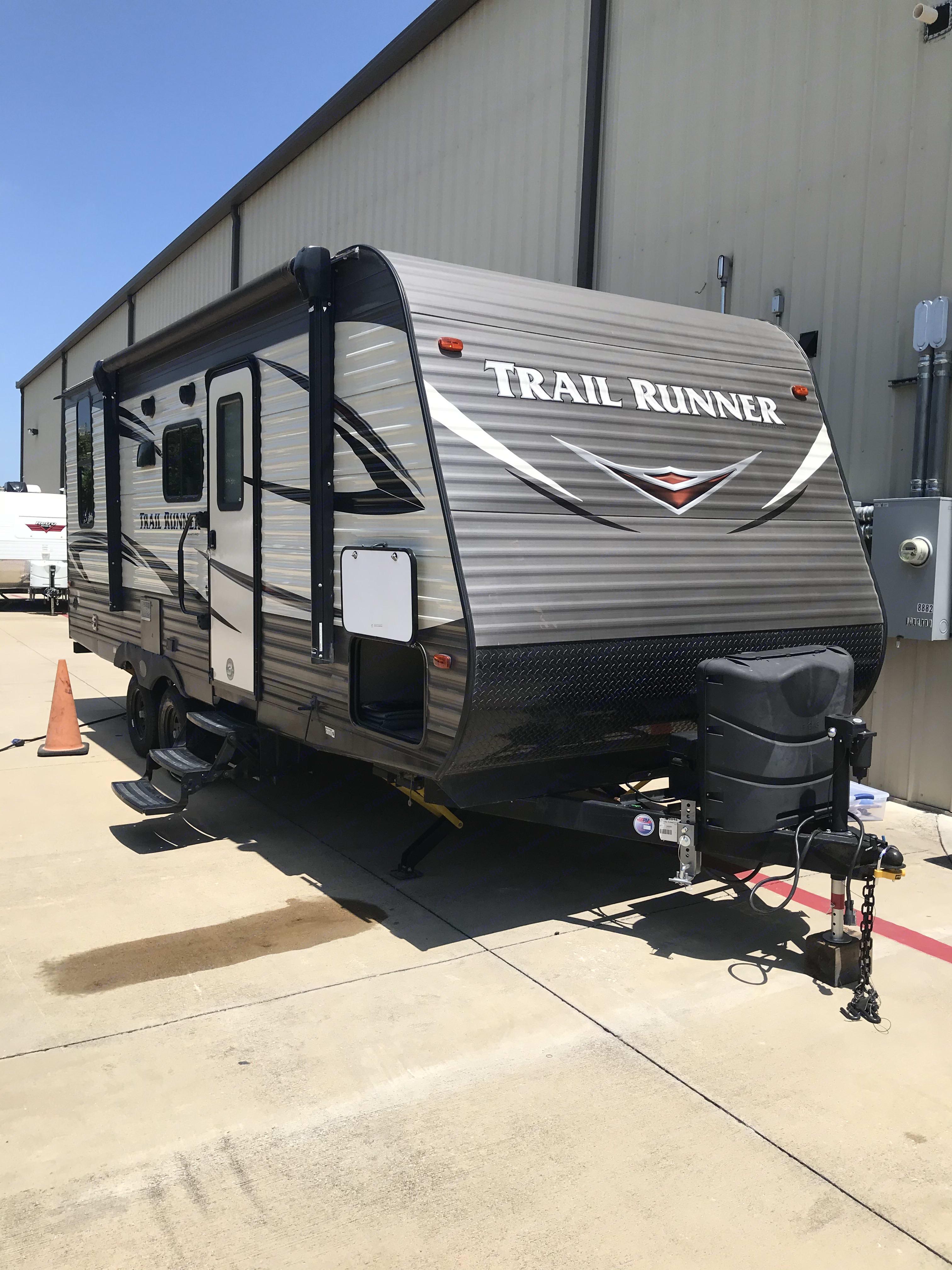 Actual trailer. Heartland Trail Runner 2019