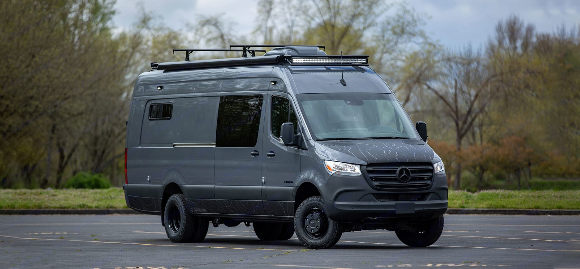 Command Post is a premium camper van ready for your next adventure!. Mercedes-Benz Sprinter 2019