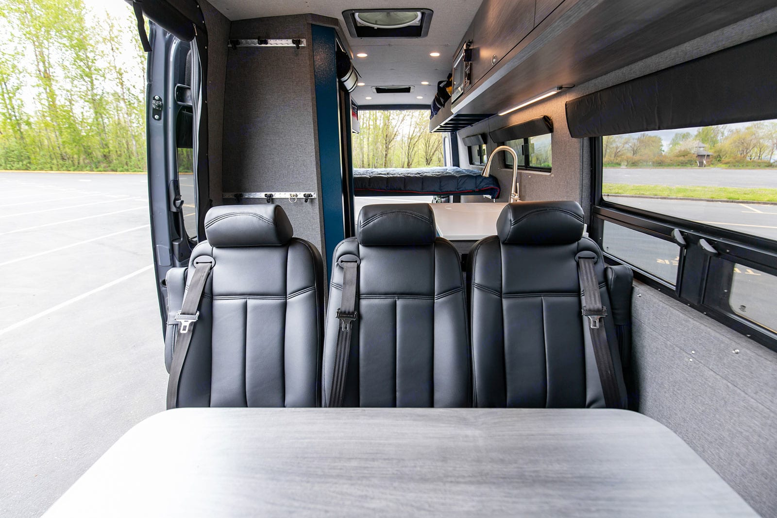 Load in the whole family in with seating and sleeping for up to 5!. Mercedes-Benz Sprinter 2019