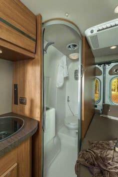 Bathroom/Shower. Winnebago Travato 2015