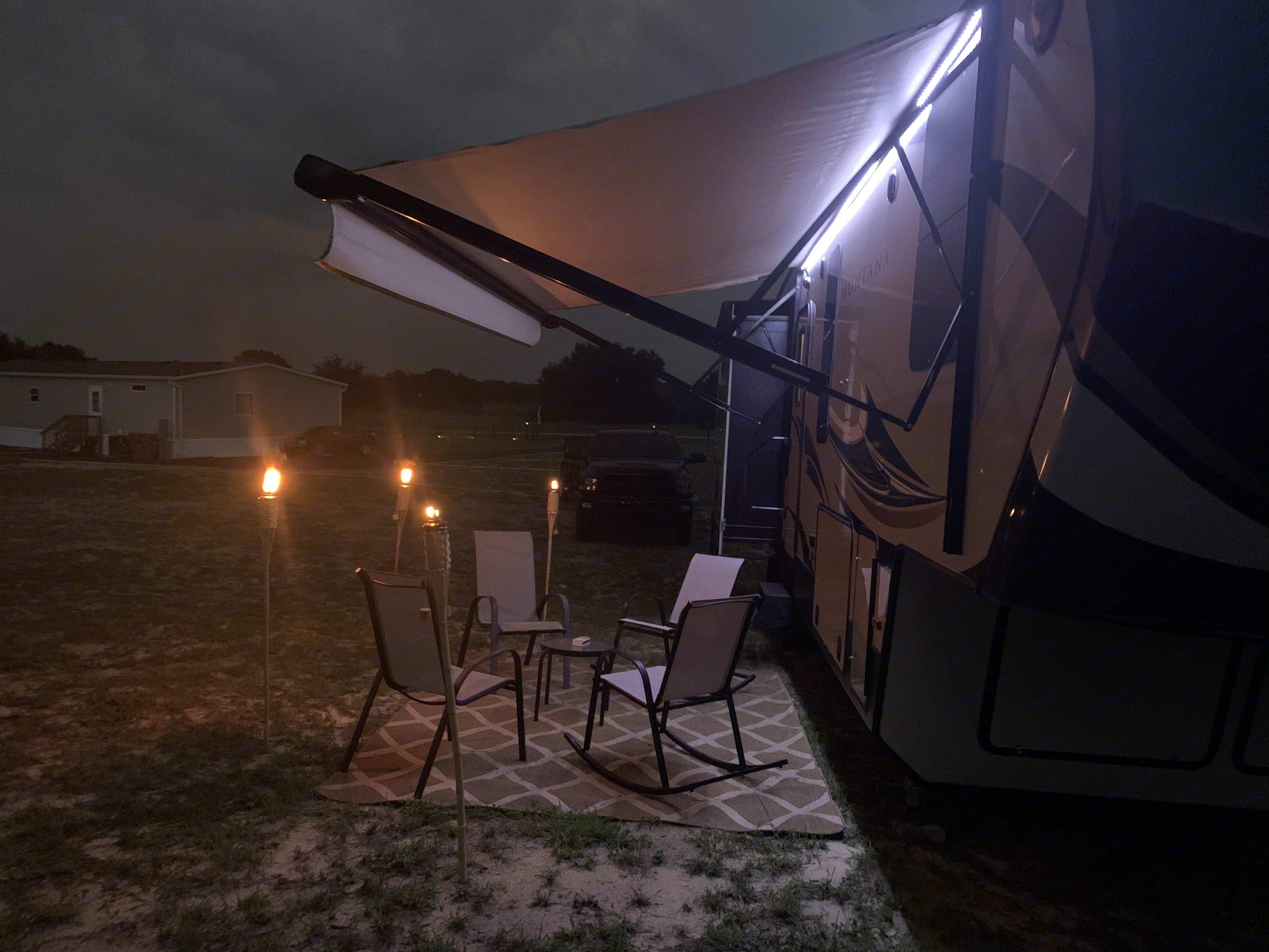 Night Time Camping. Keystone Montana High Country 2018