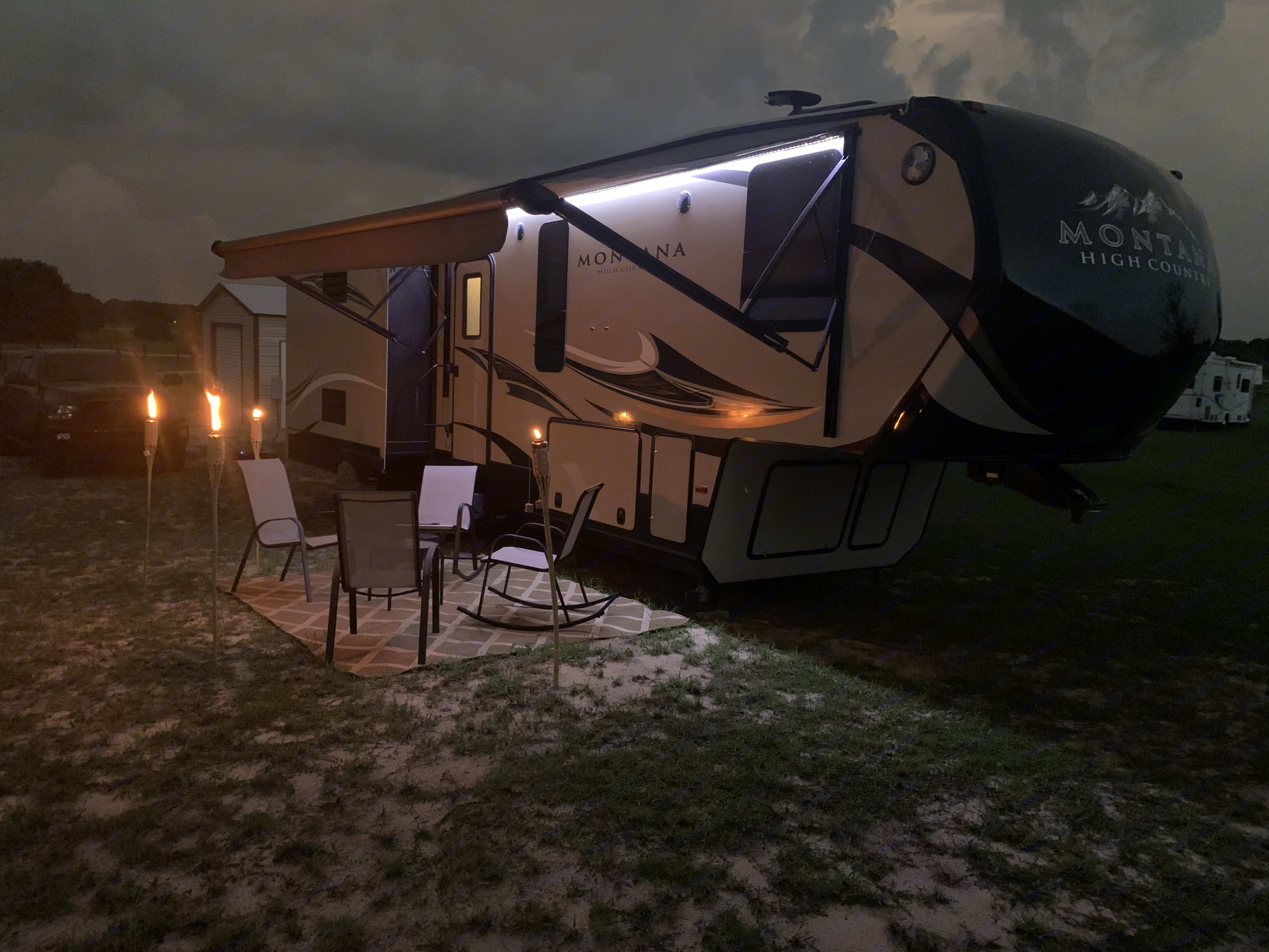 Enjoying the Night. Keystone Montana High Country 2018