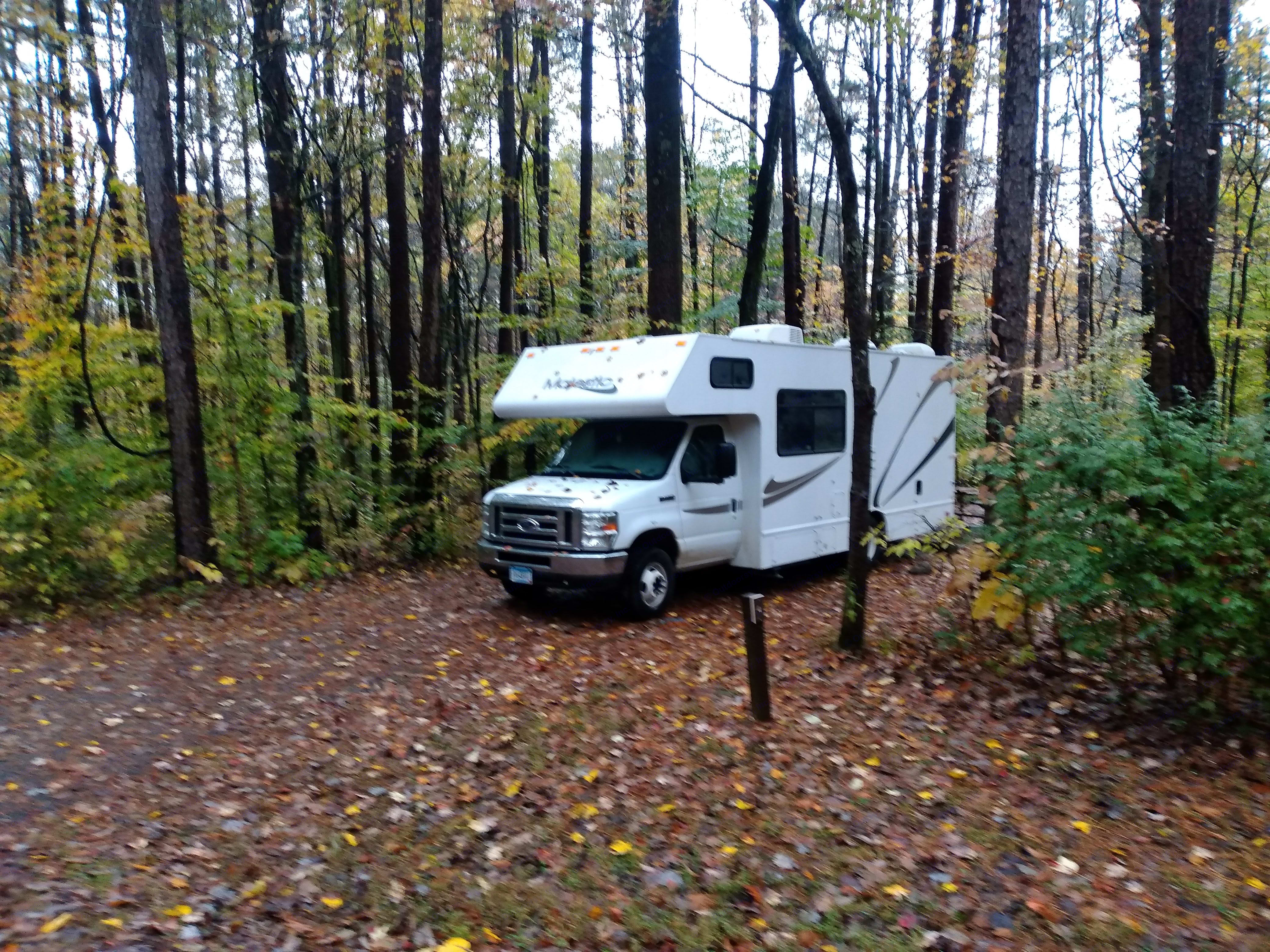 National Forest Campsite. Thor Motor Coach Other 2015