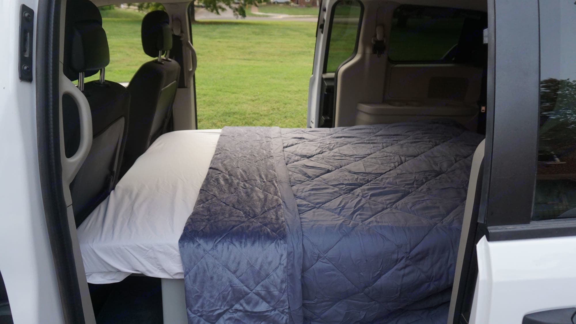 Included in the van rental are sheets and a warm blanket.. Dodge Other 2019