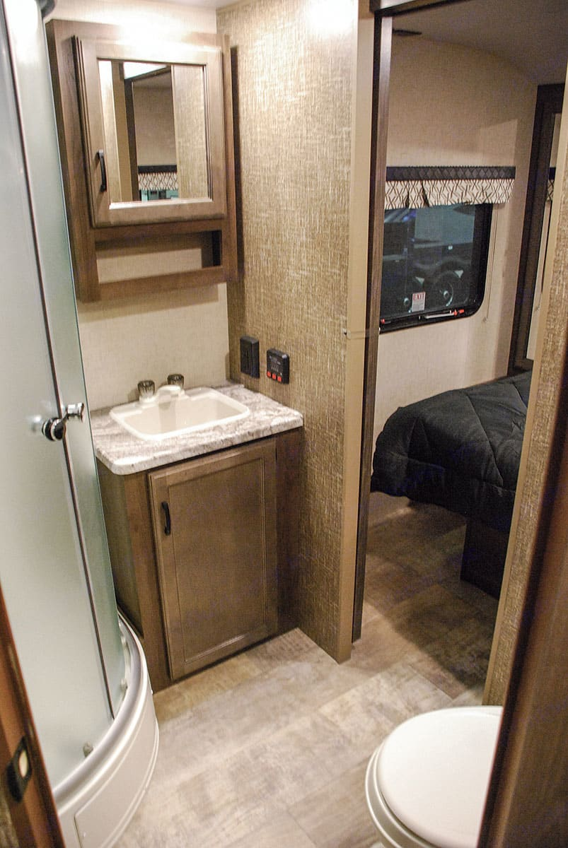 Bathroom access from bedroom. K-Z Manufacturing Other 2017