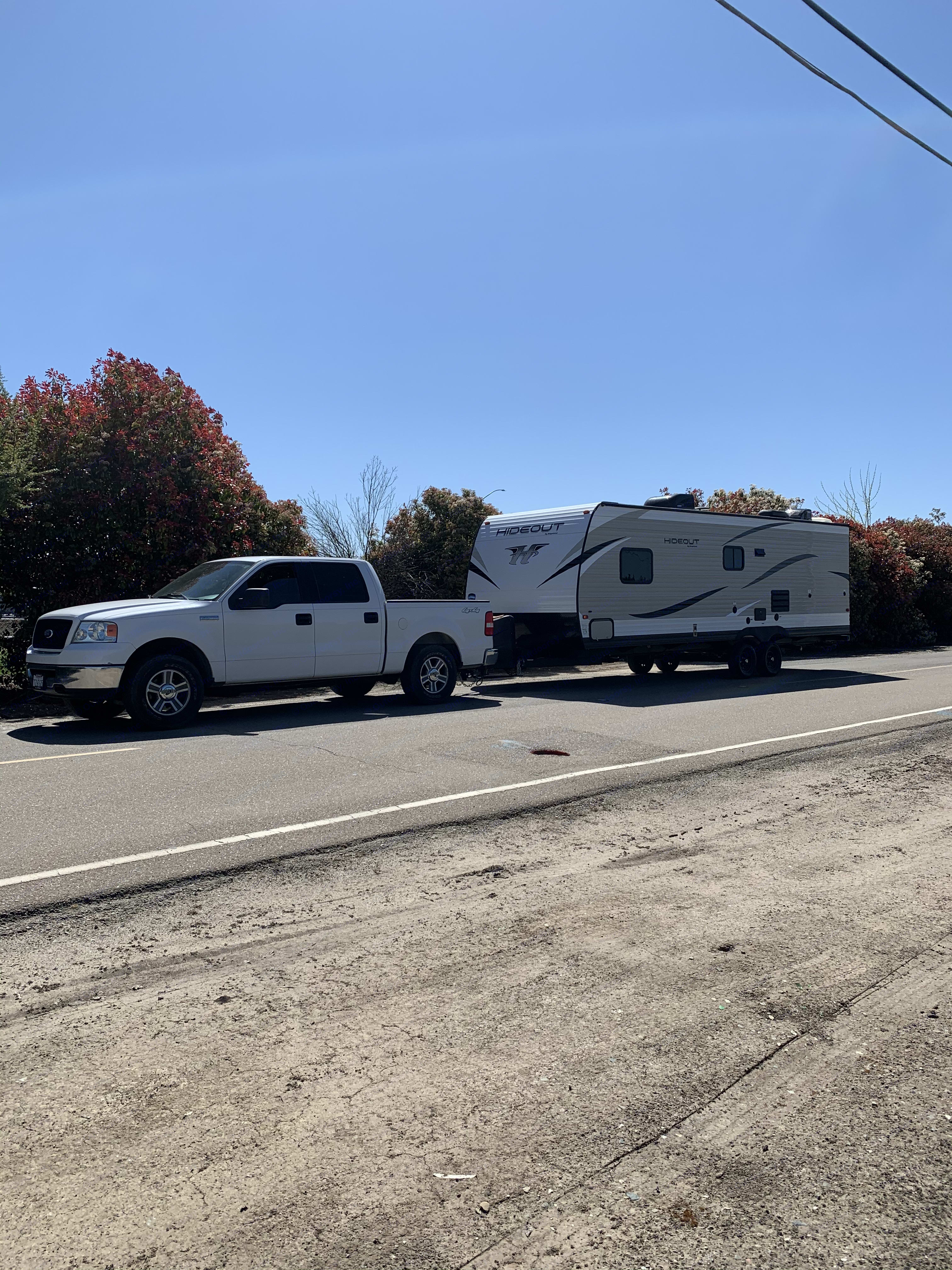 Minimum of a Tundra, f150, or chevrolet/dodge 1500 to pull trailer. Keystone Hideout 2019