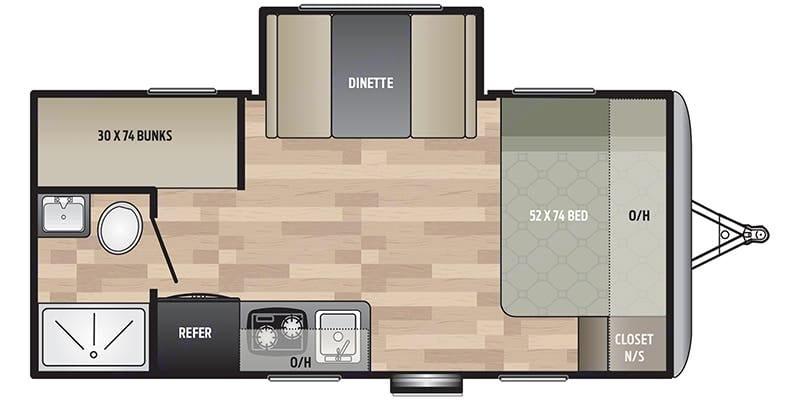 Floorplan. Keystone Springdale 2020