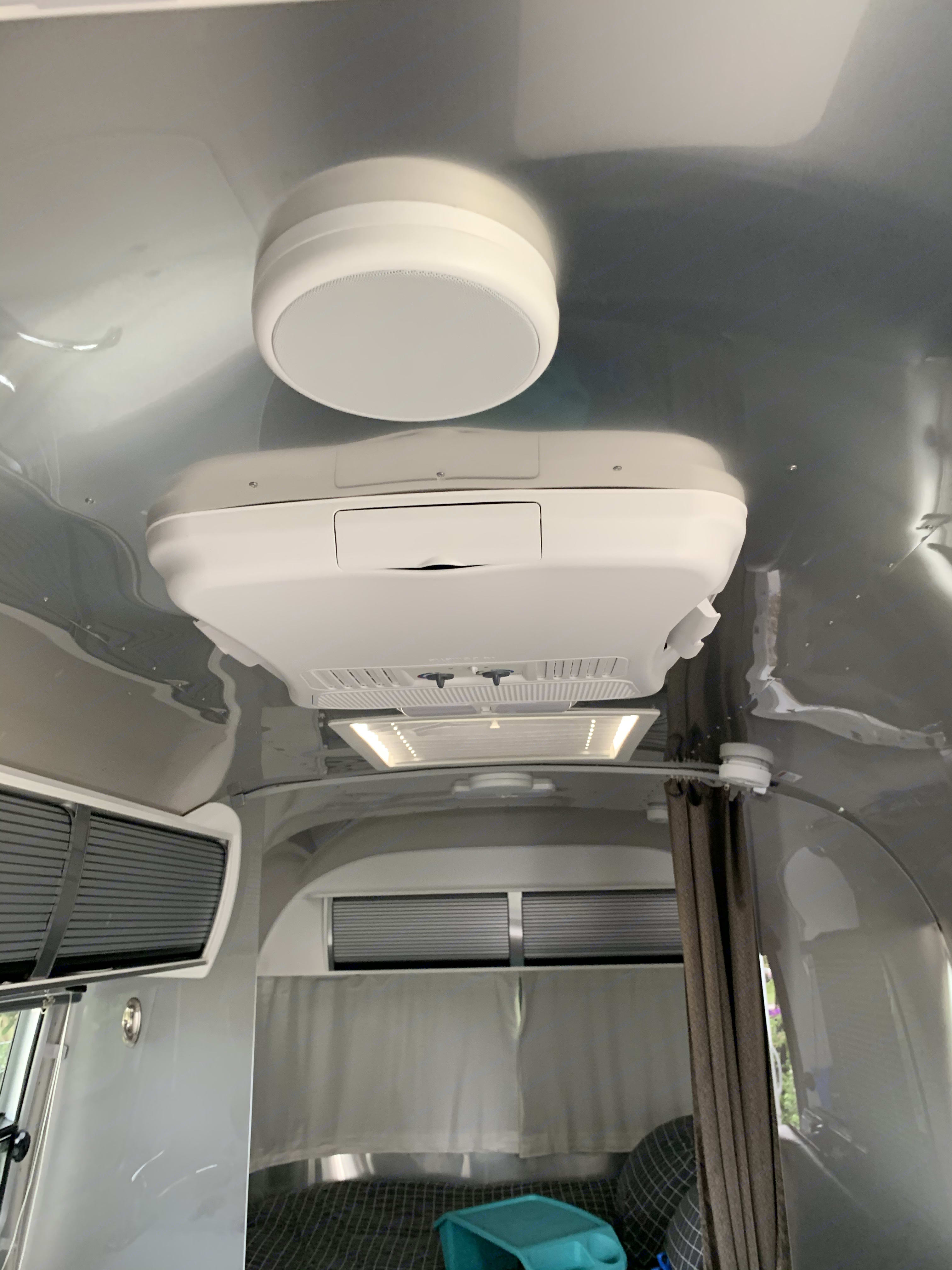A/C Unit keeps you feeling exactly as you want inside. Airstream Sport 2019