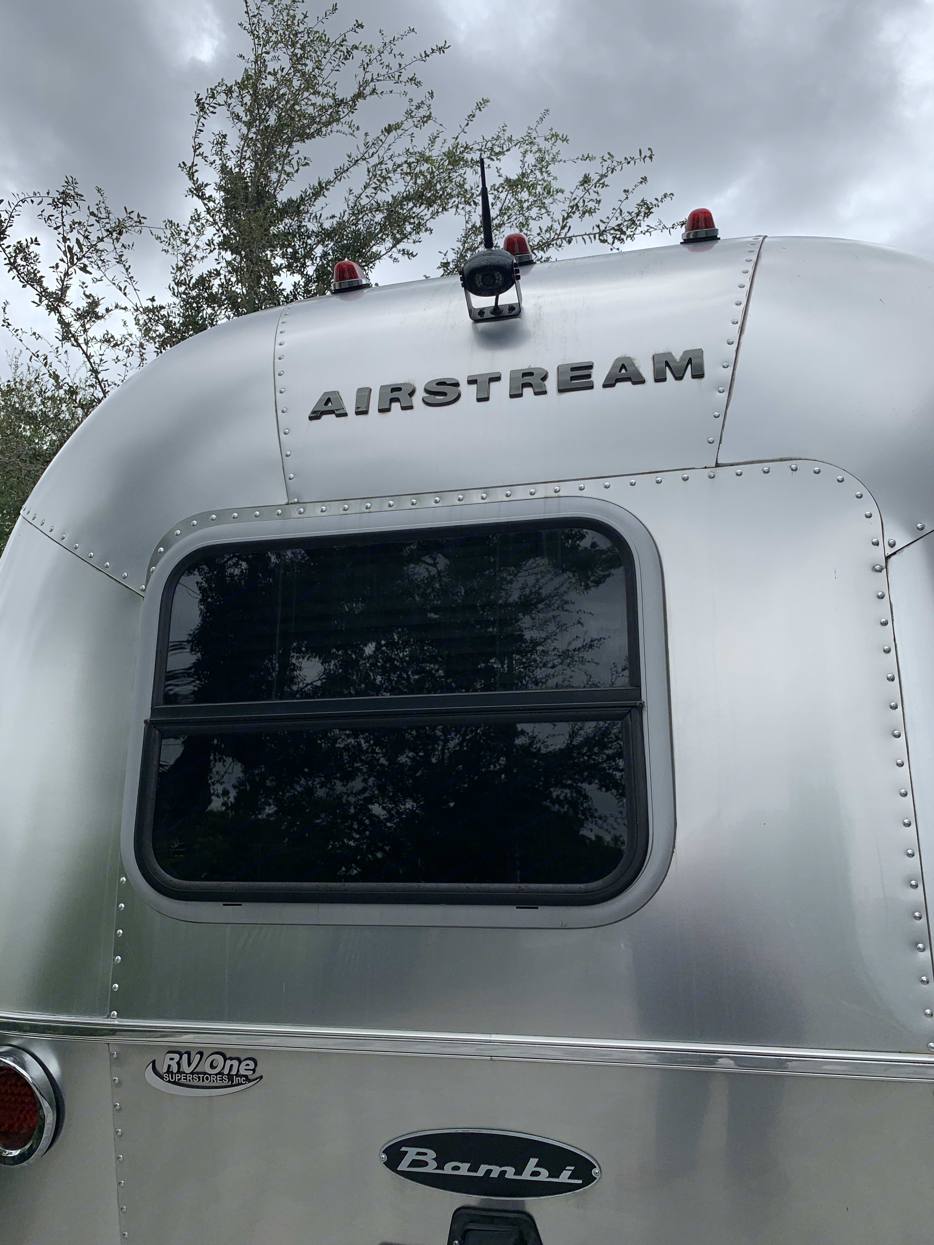 Back of Airstream. Note back up camera mounted on top.. Airstream Sport 2019