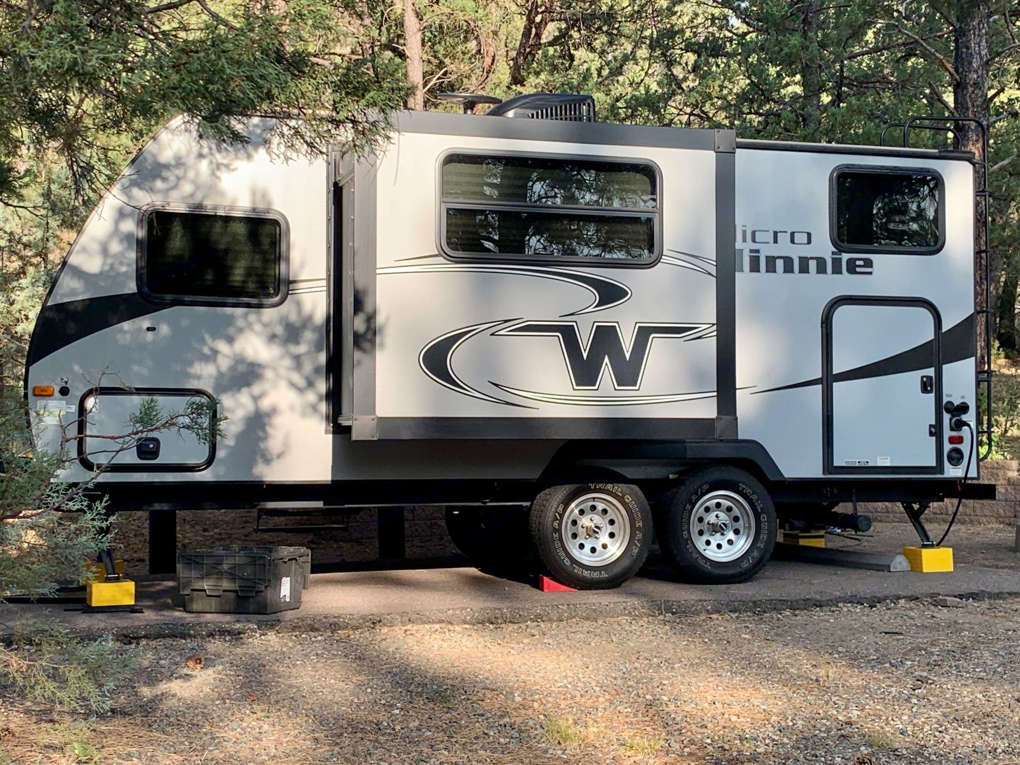Hitch up the trailer with ease with this wireless hitch camera.  - Add On - $20 per trip. Winnebago Micro Minnie 2019