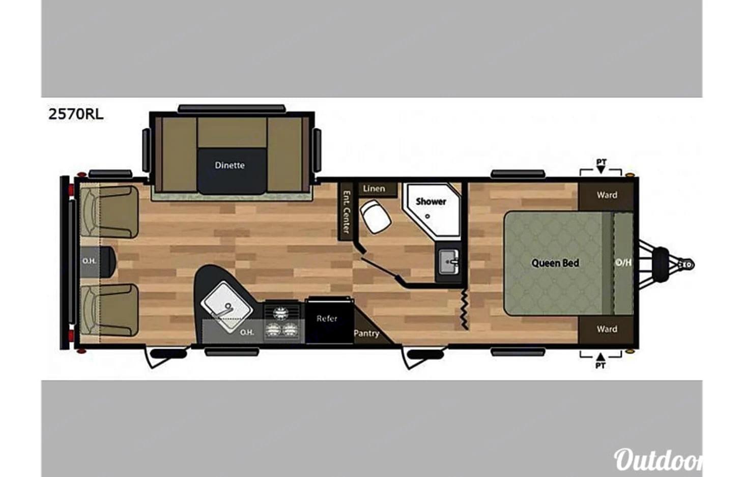 Floor Plan. Keystone Springdale 2015