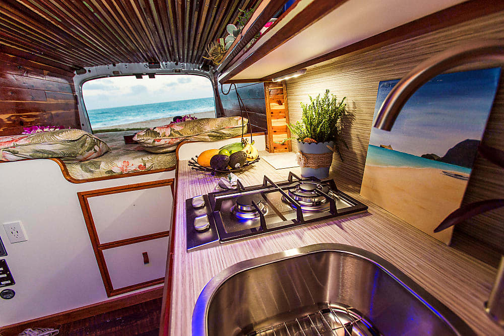Rise and shine!Just imagine waking up in bed to this amazing view each morning. Ford Transit 2016