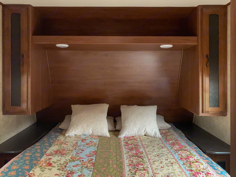 bedroom area. Jayco Jay Feather 2017