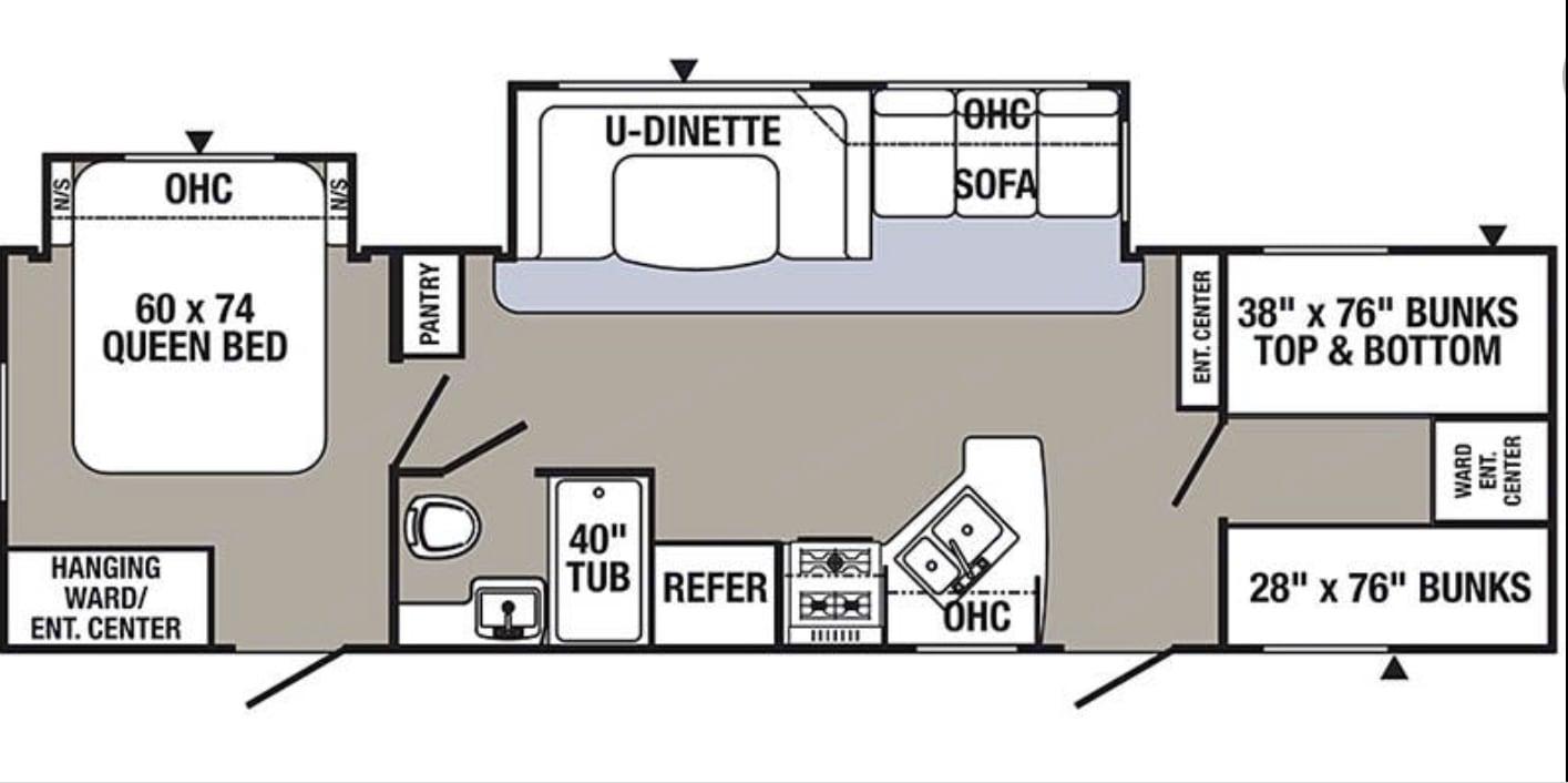 floor plan. Palomino Puma 2018