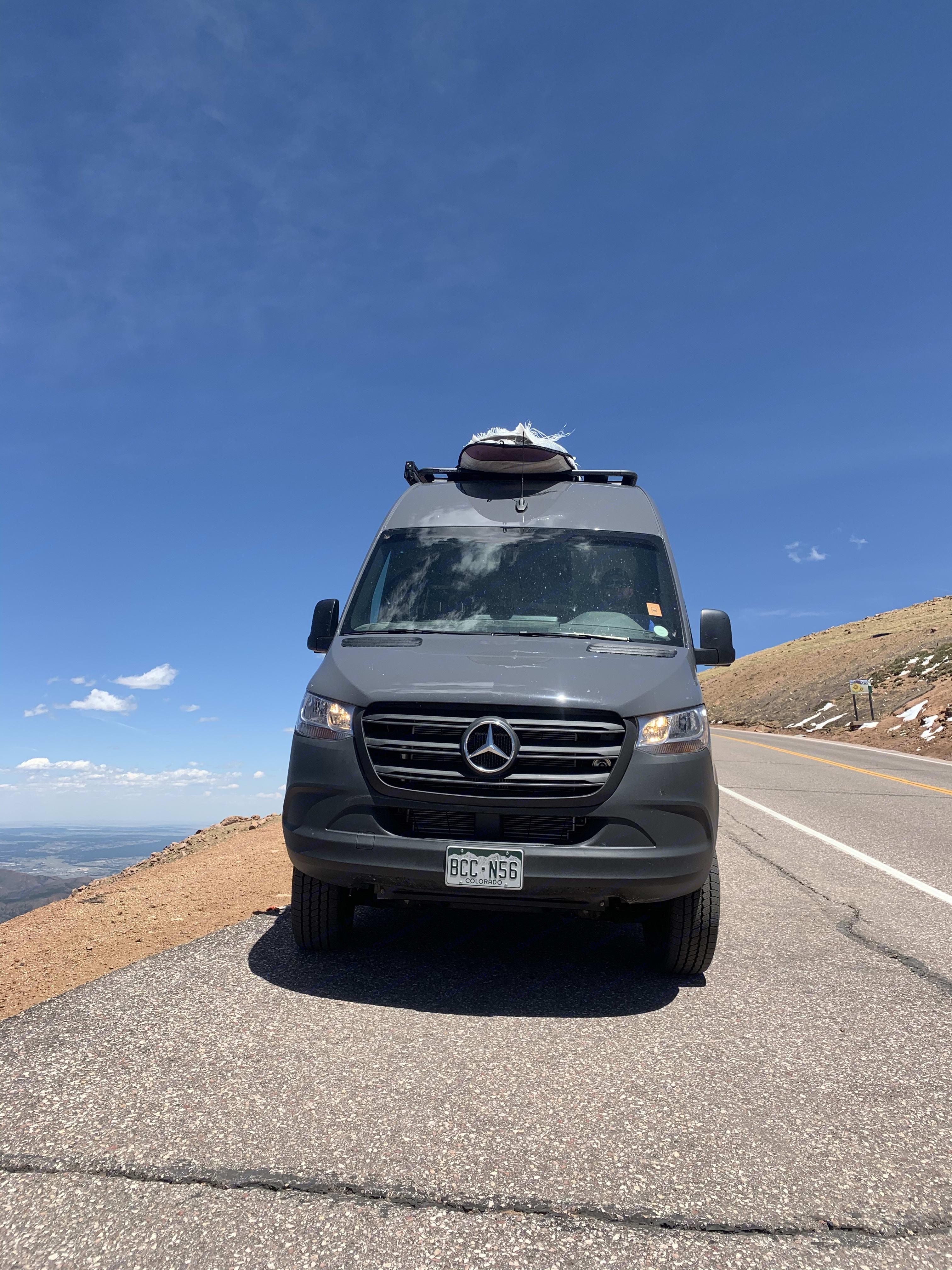 Exterior Front. Mercedes-Benz Sprinter 2019
