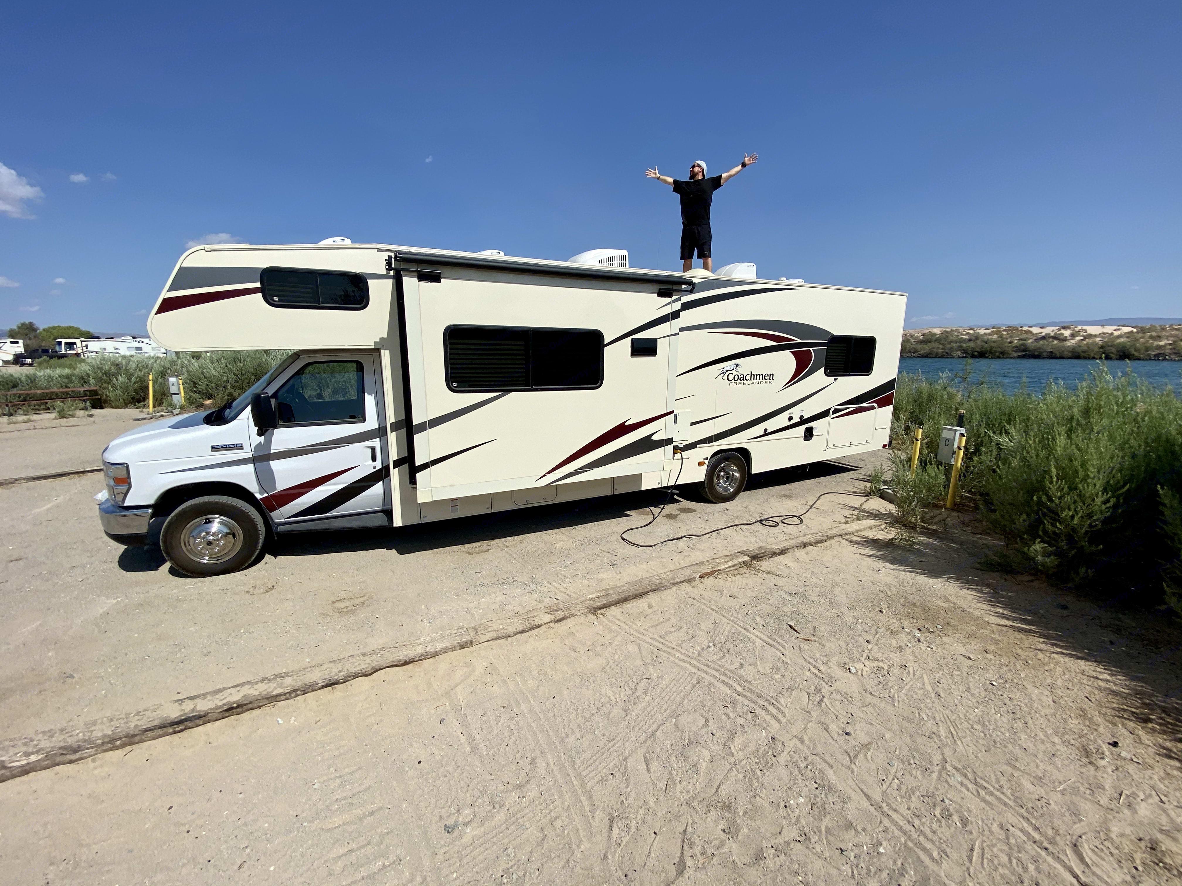 On top of the world!!!. Coachmen Freelander 2018