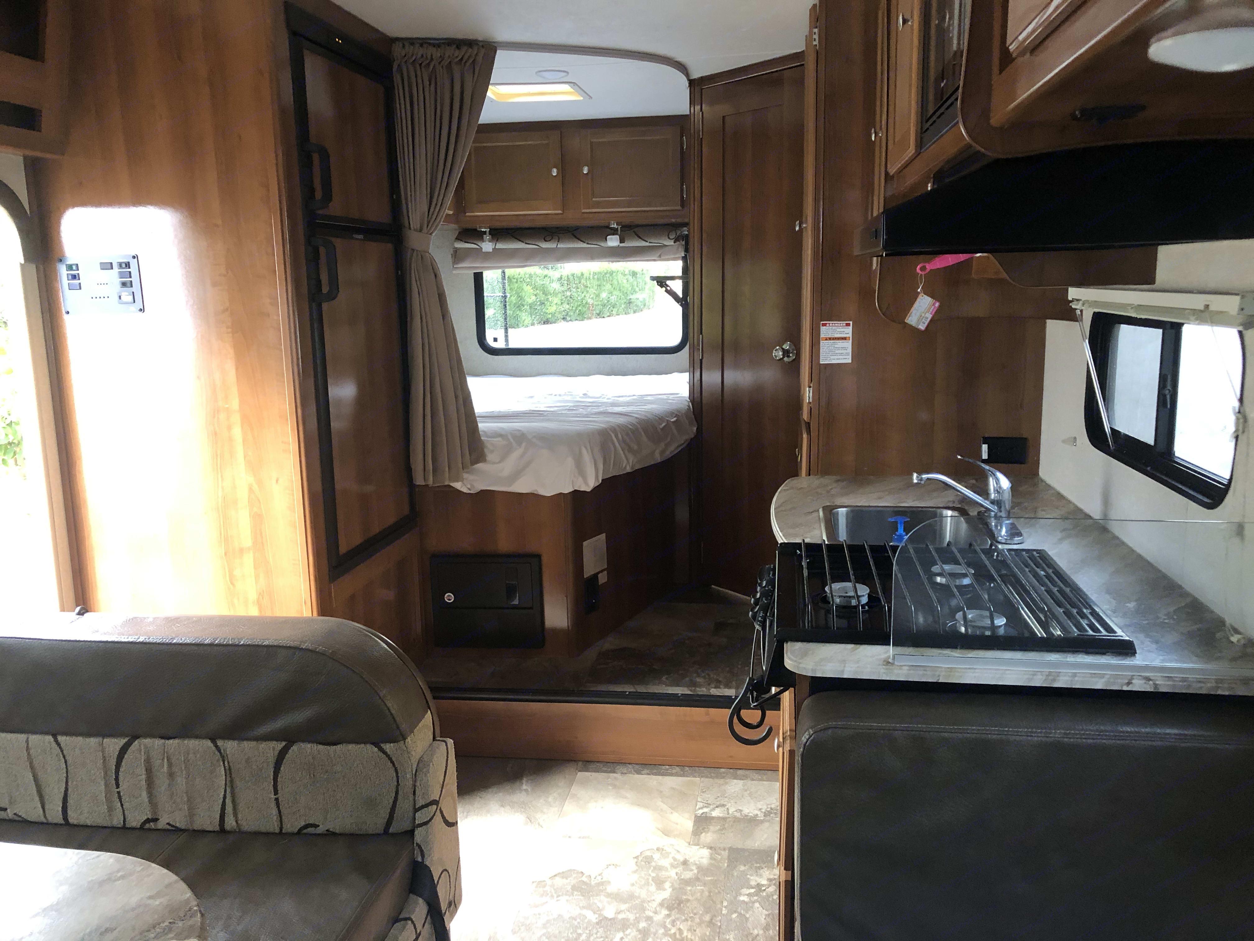 Interior Rear. Coachmen Leprechaun 2019