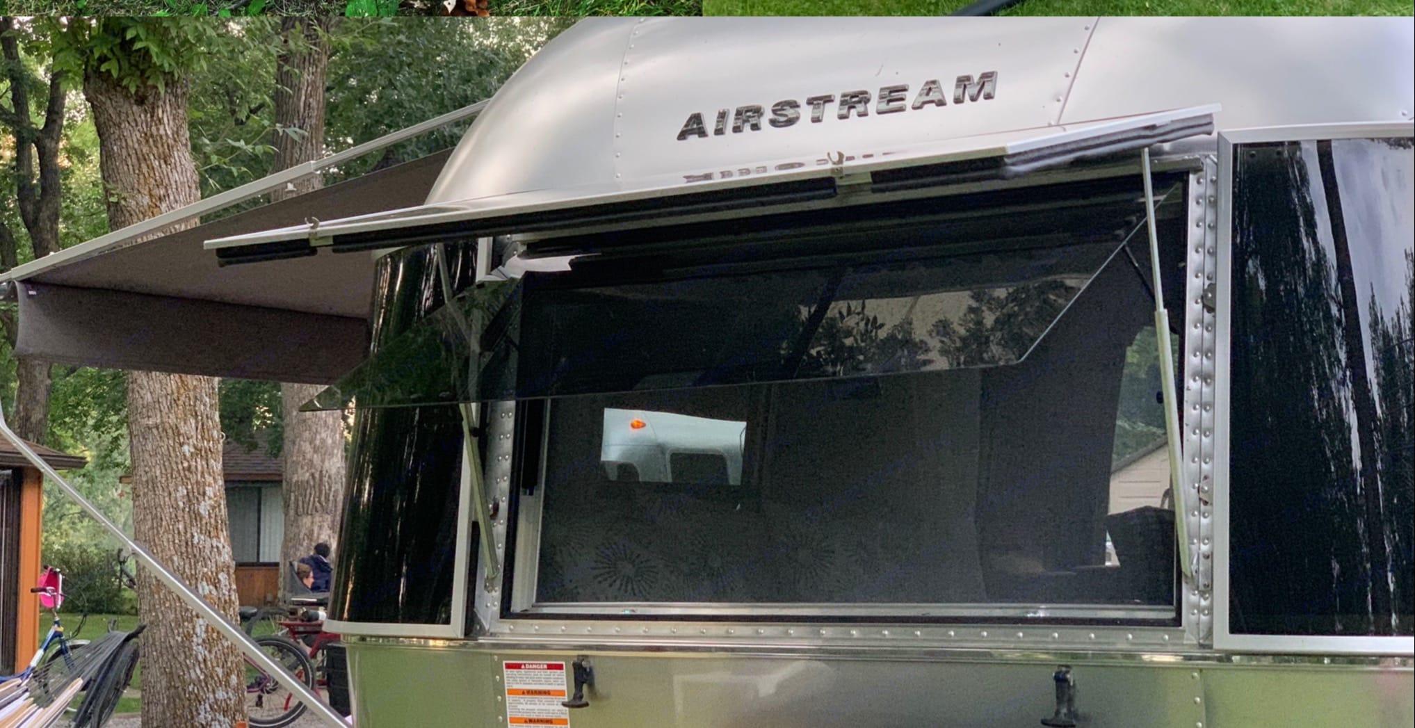 Sleeping Area. Airstream Bambi 2021