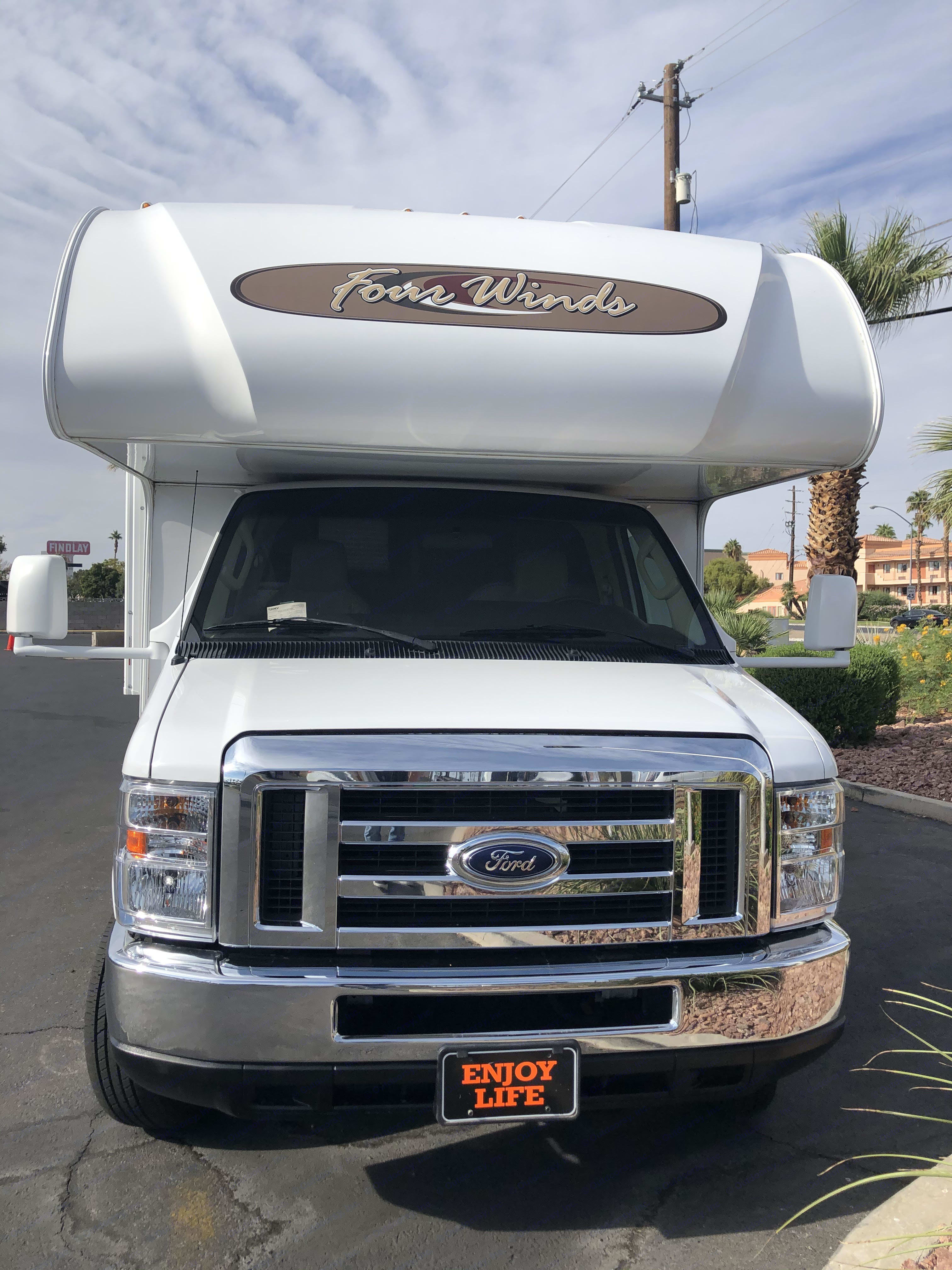 One clean looking 2019 RV ready for the road for exploring and adventure!. Thor Motor Coach Four Winds 2019