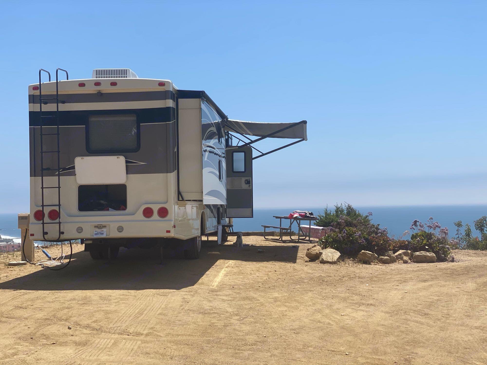 Camped in Malibu, California!. Forest River Georgetown 2012