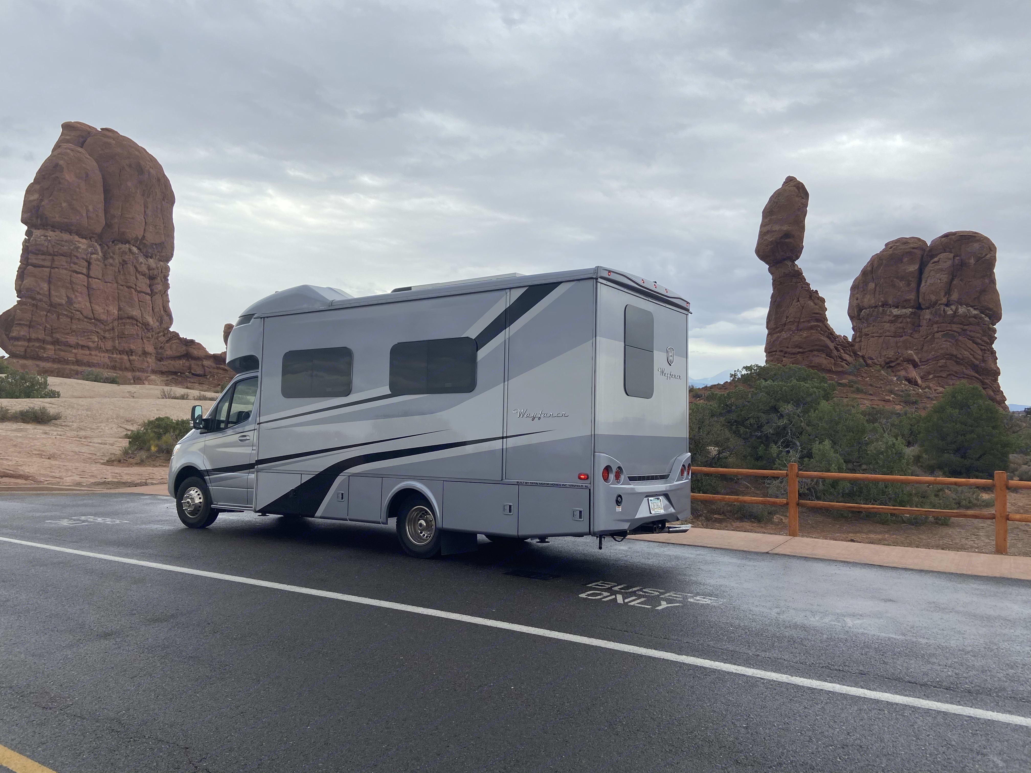 Monument Valley, Arizona. Tiffin Motorhomes Wayfarer 25RW 2020