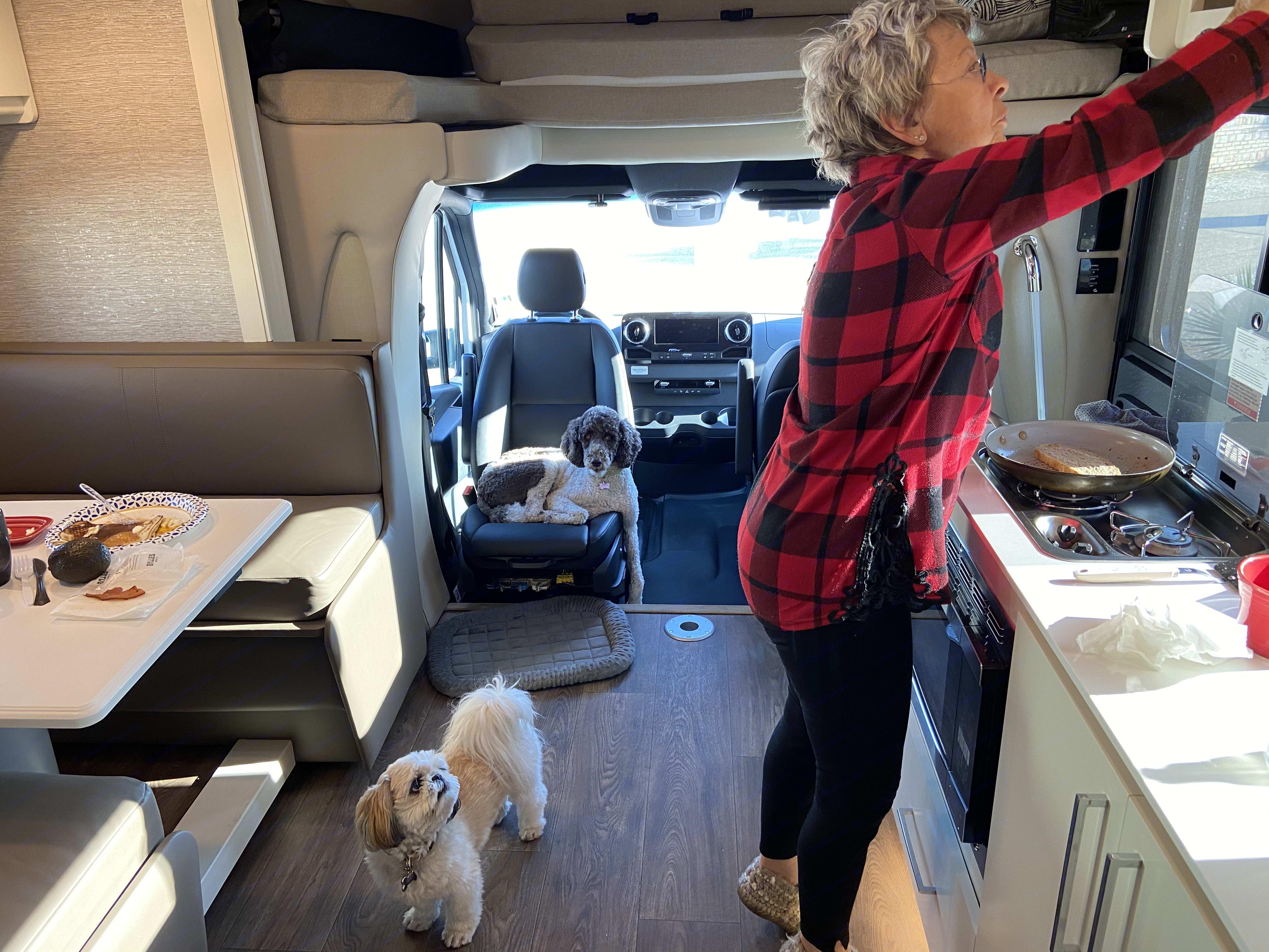 Doing life inside my RV. Tiffin Motorhomes Wayfarer 25RW 2020