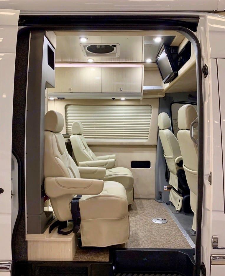 Interior. Airstream Interstate 2011