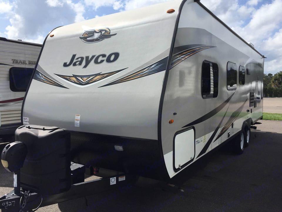 Front view. Jayco Jay Flight 2019