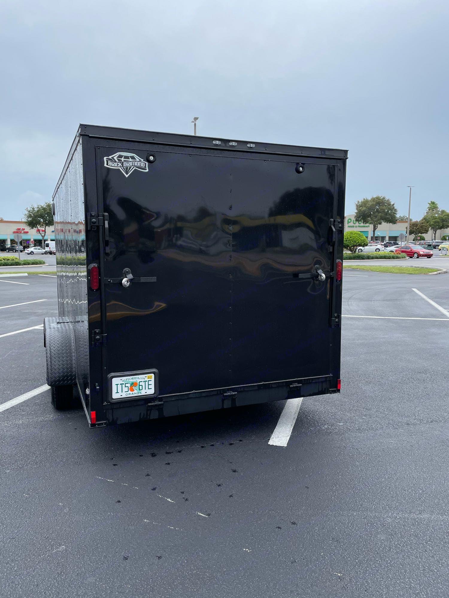 7x16 Utility Trailer Black Dimond trailer 2020