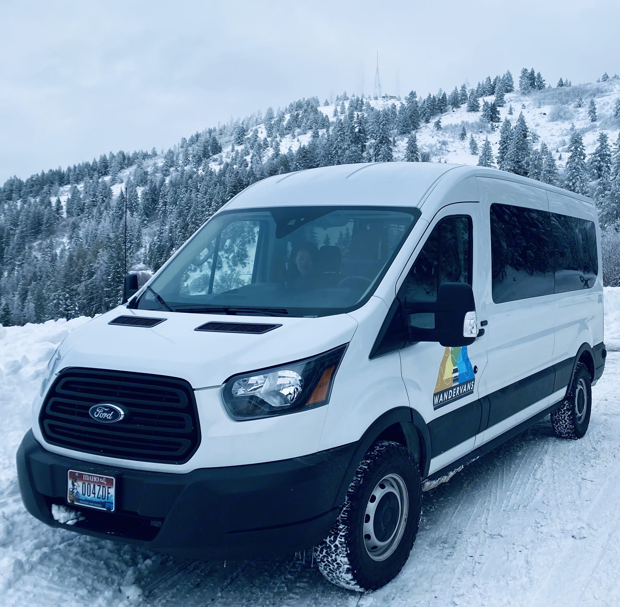 Winter Ready. Ford Transit 2019