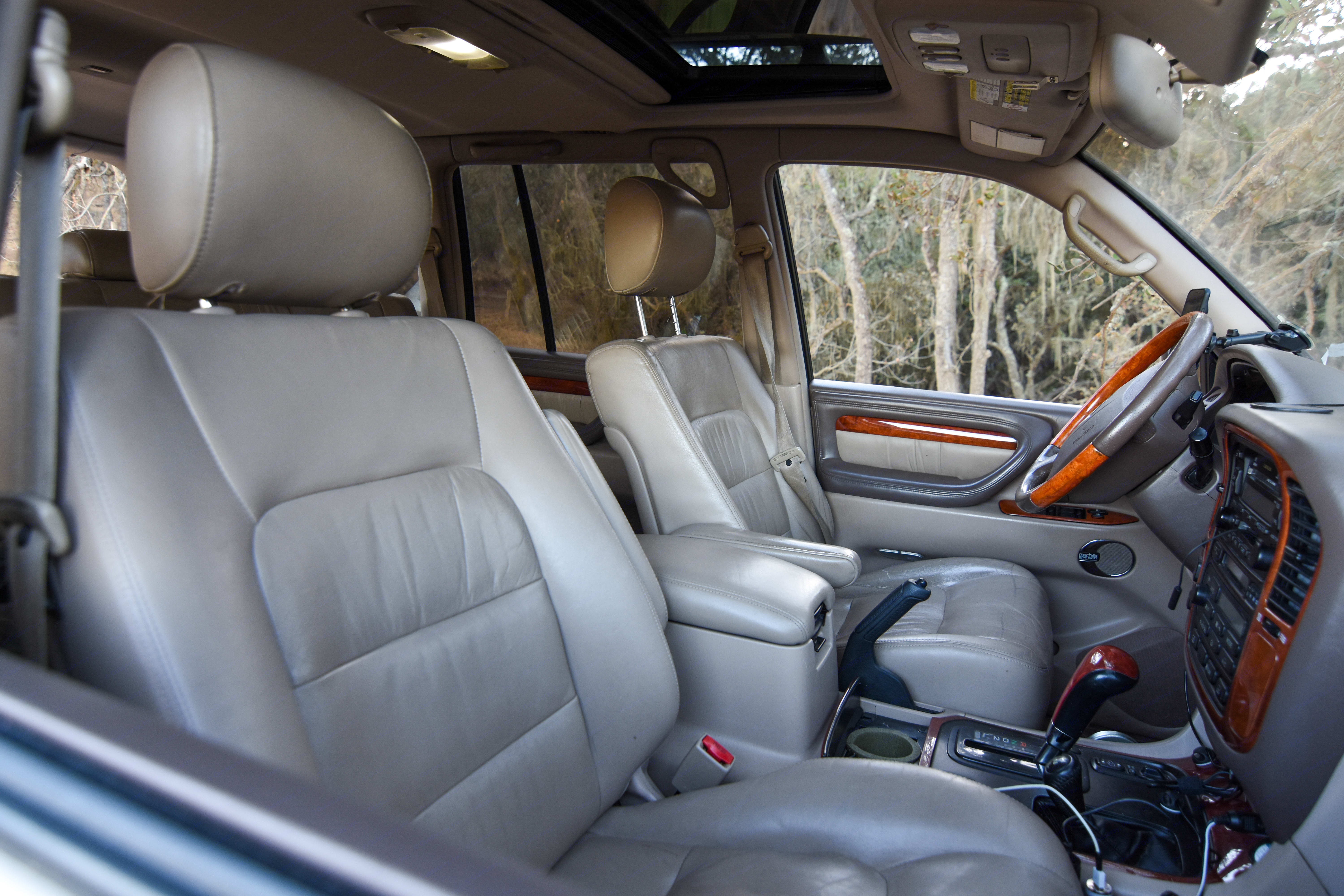 Plenty of room to sit you and your passengers comfortably!. Lexus LX470 2001