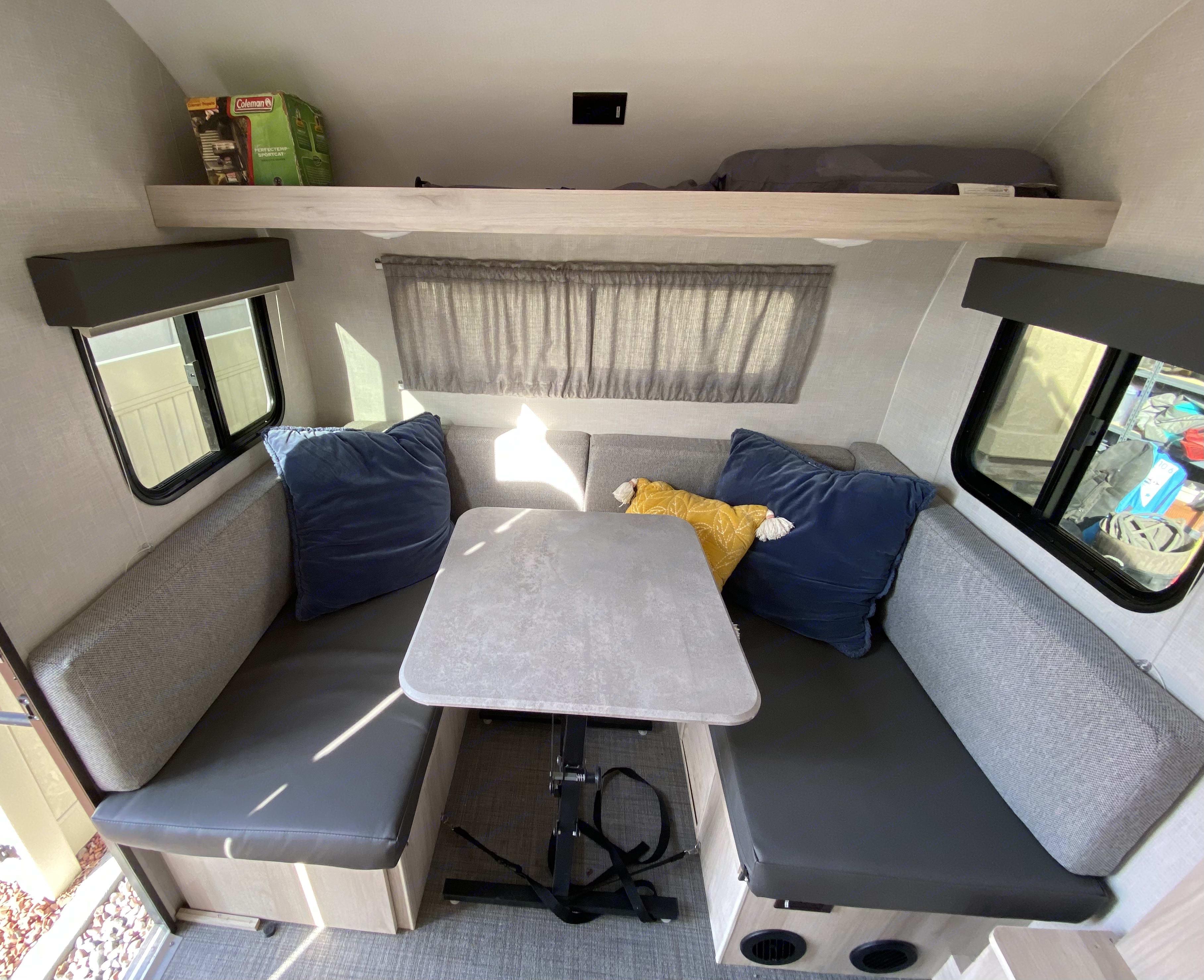 Seats 4 comfortably. Winnebago Other 2021