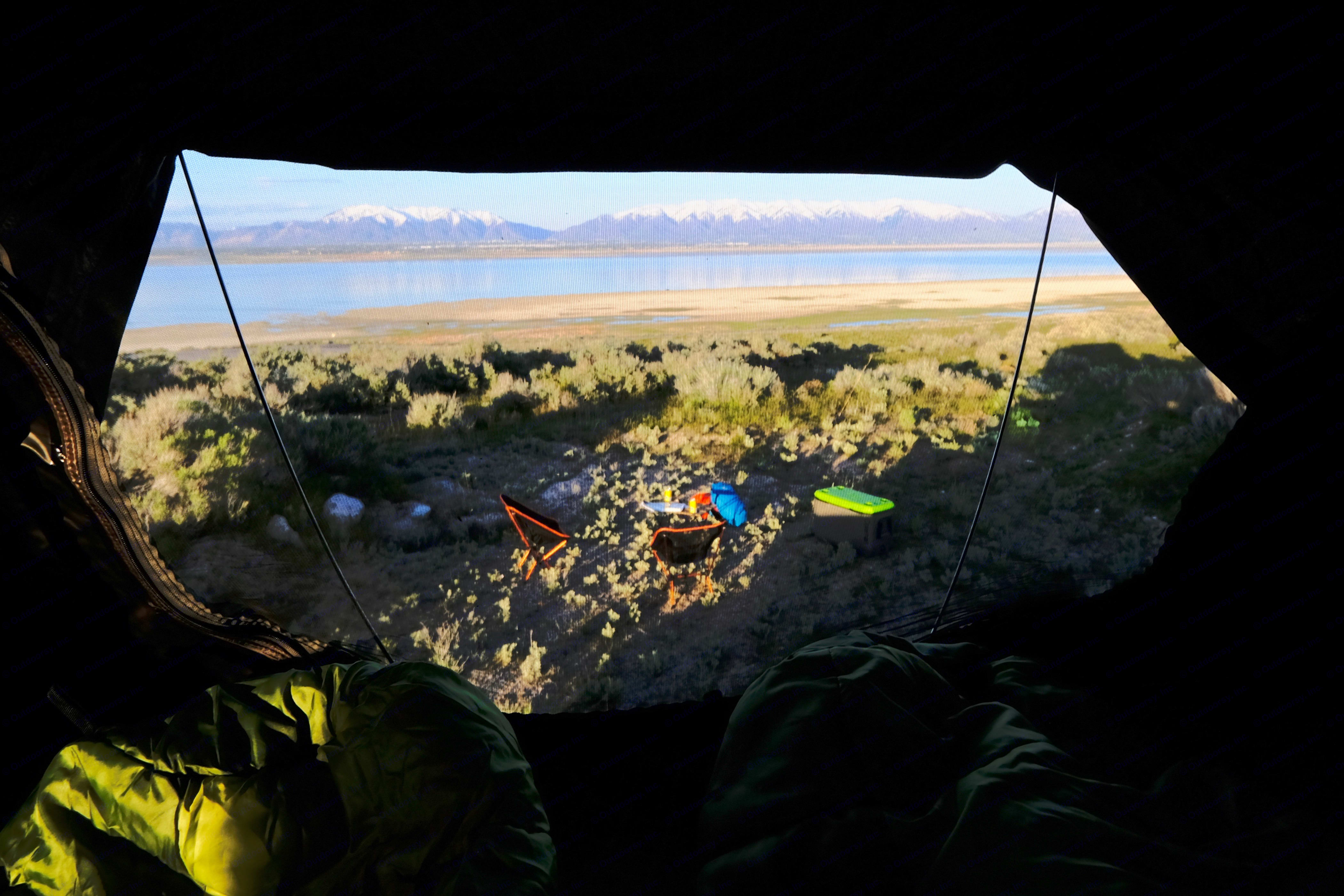 View from the interior of the iKamper SkyCamp.. Ford Bronco Sport 2021