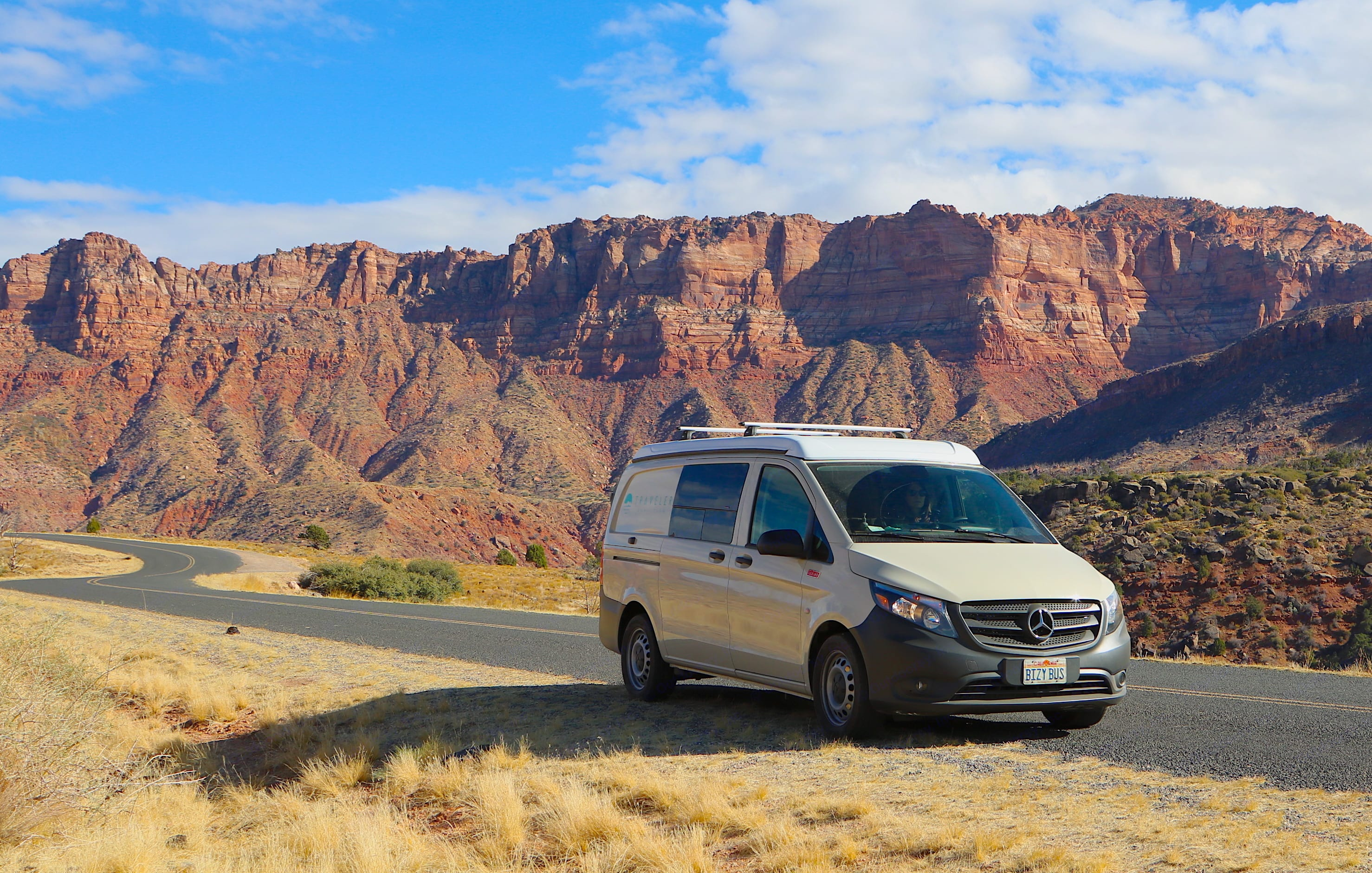 The Sandy Van drives like a dream and fits in around town. You'll be tempted to check out all of the vistas along your route.. Mercedes-Benz Metris Pop-Top 2020