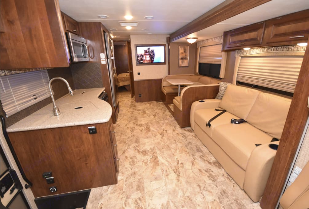 Main Living Area. Coachmen Mirada A-Class 2016