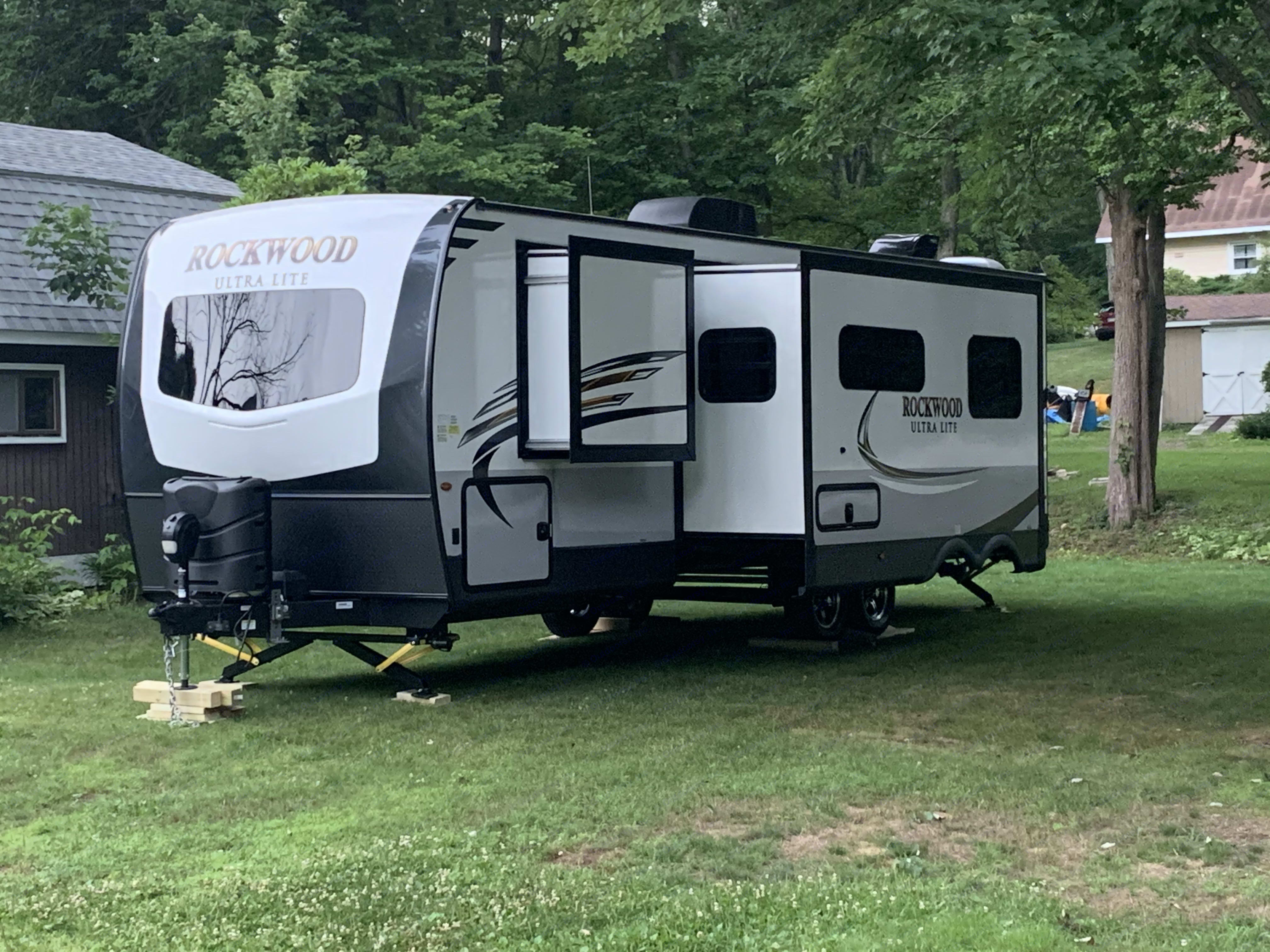 Beautiful exterior. Forest River Rockwood Ultra Lite 2020