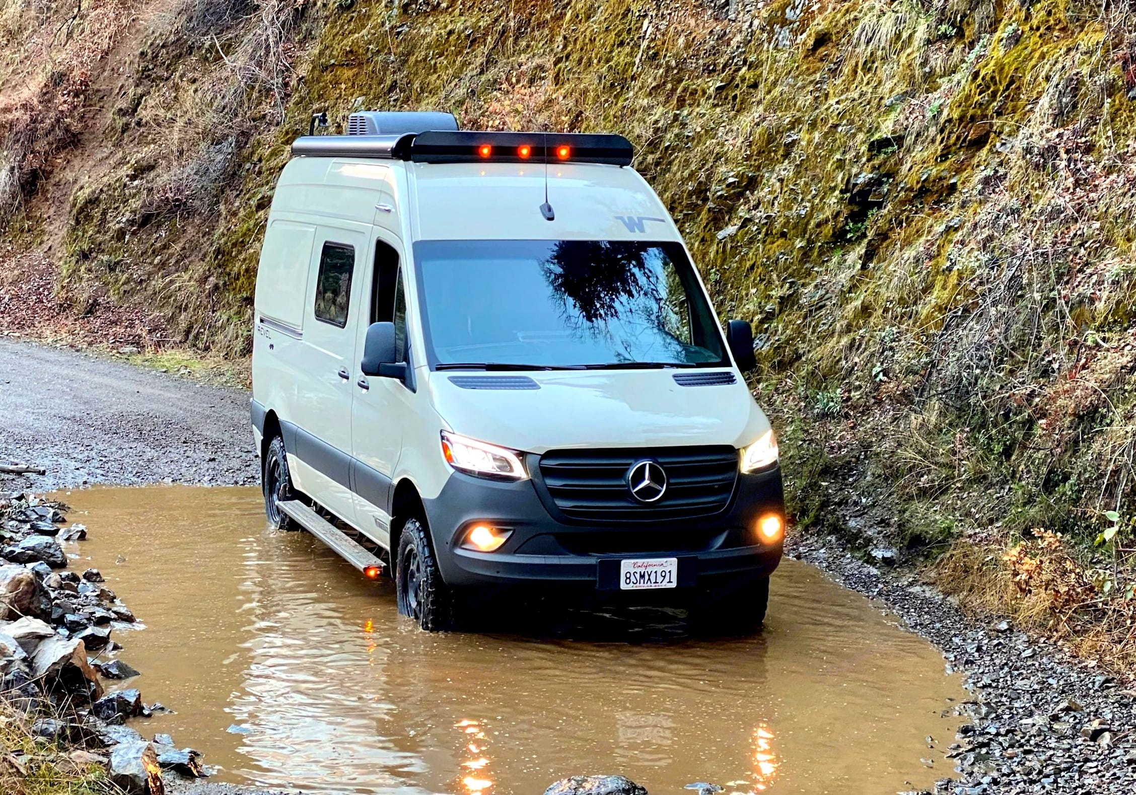 """""""Odin"""" is a 2021 Winnebago Revel. Odin is available to rent for your next outdoor adventure.. Winnebago Revel 2021"""