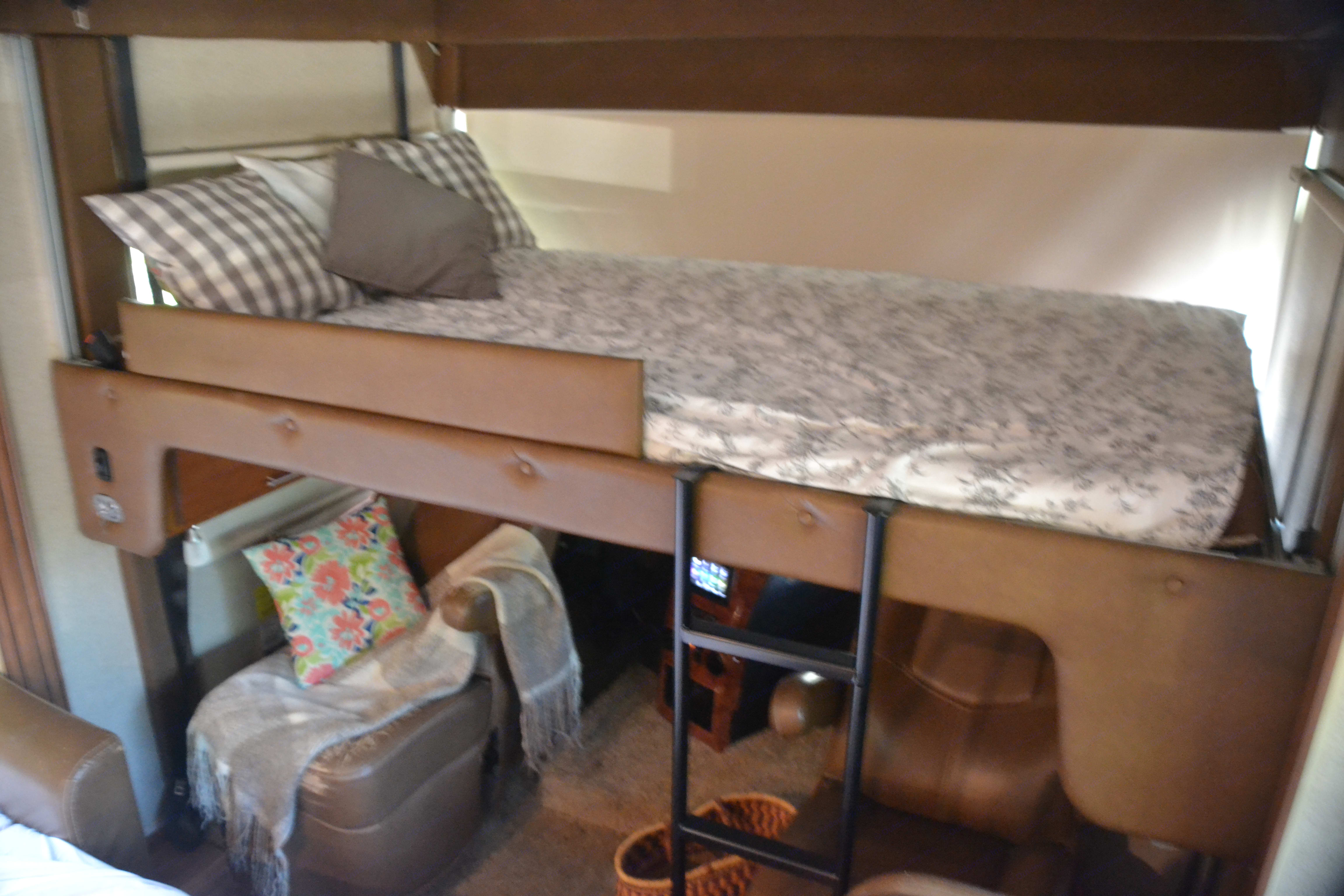 Fun place for kids, loft bed. Jayco Precept 2016